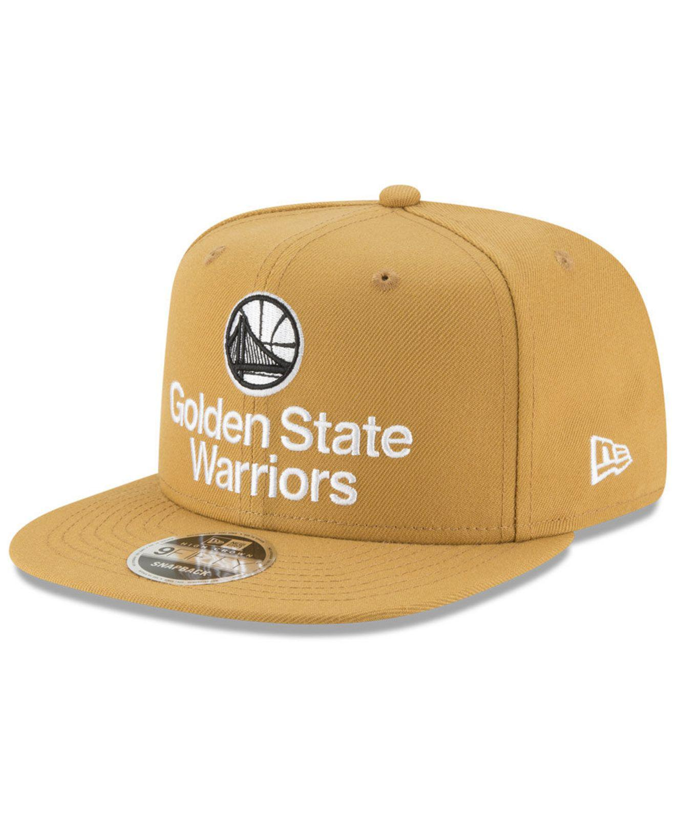 sale retailer bf2d9 93fb2 ... sweden ktz. mens golden state warriors retro basic 9fifty snapback cap  97627 fa01f