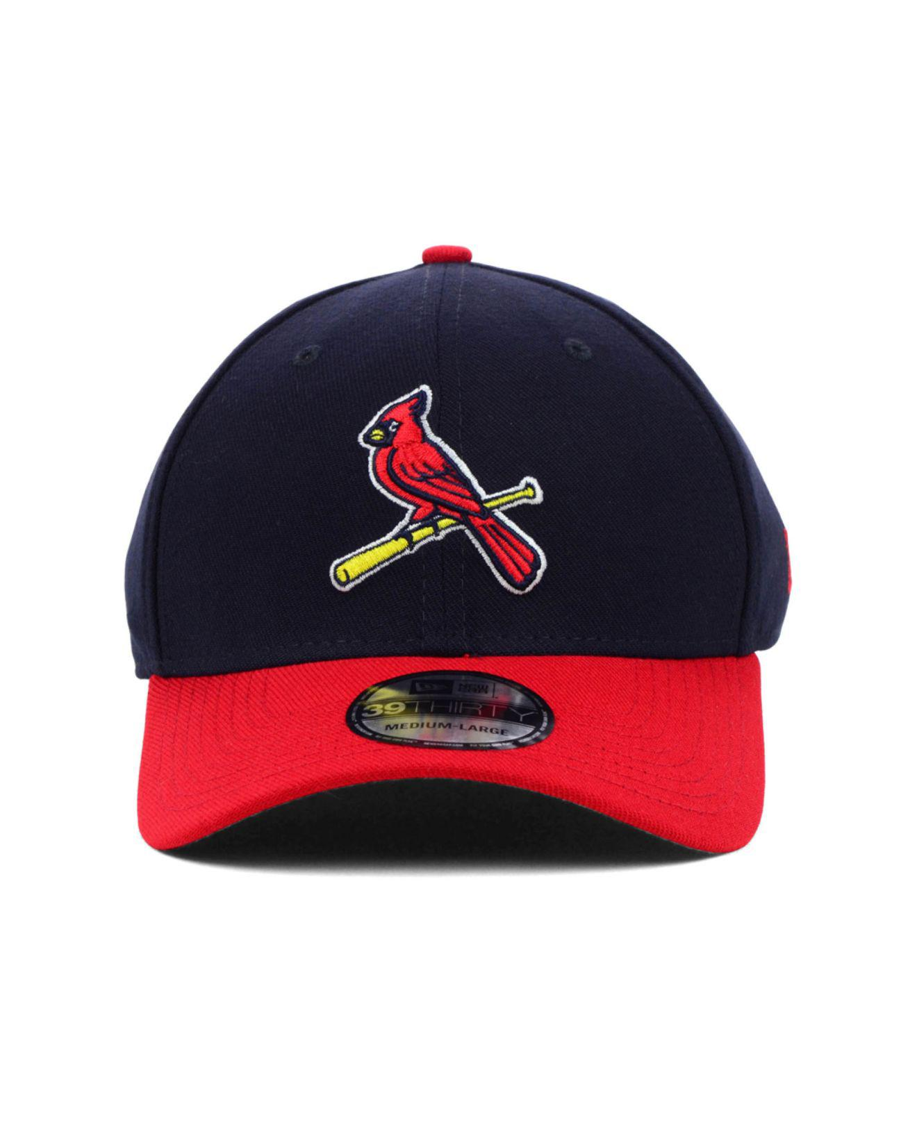 save off 26ae2 5e0f4 ... discount lyst ktz st. louis cardinals mlb team classic 39thirty cap in  blue for men