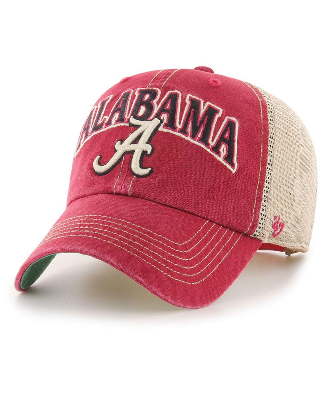 sale retailer b1f07 8a160 47 Brand. Men s Alabama Crimson Tide Tuscaloosa Mesh Clean Up Cap