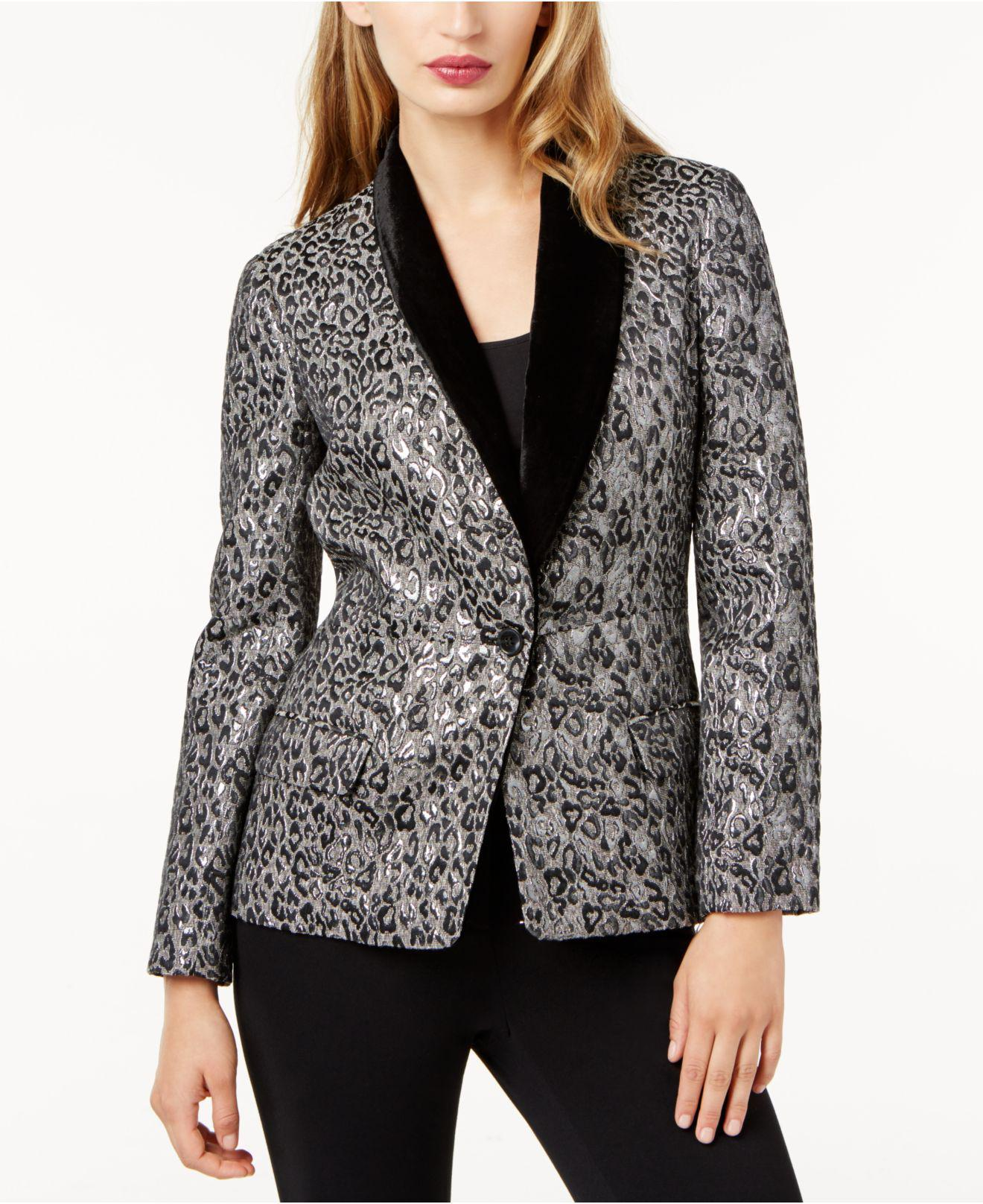 Discount The Cheapest Clearance Official Site Sachin + Babi Silk-Trimmed Notch-Lapel Blazer Low Price Fee Shipping Sale Online Choice Online Clearance New Eswzx0
