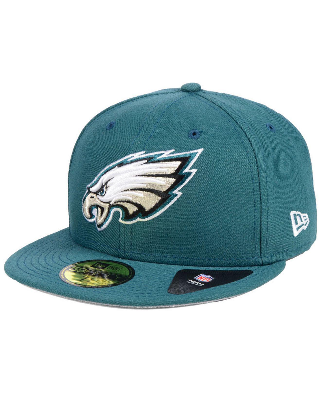 12994593b3c Lyst - Ktz Philadelphia Eagles Team Basic 59fifty Fitted Cap in ...