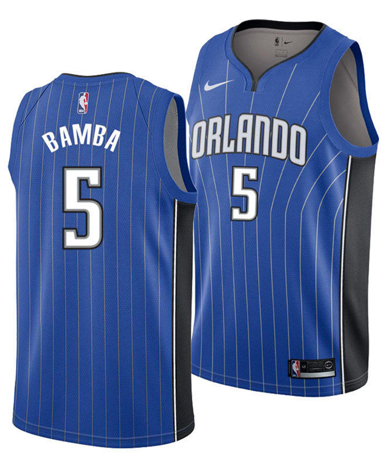 e7c786121b3 ... best nike. mens blue mohamed bamba orlando magic icon swingman jersey  e47c3 ebc74