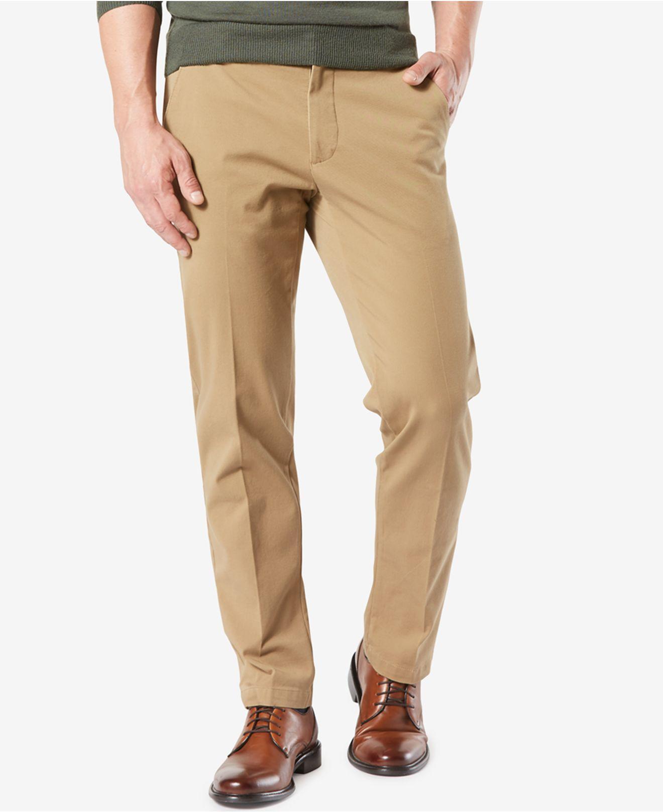 fc1654a53e Dockers. Men s Natural Workday Smart 360 Flex Straight Fit Khaki Stretch  Pants D2