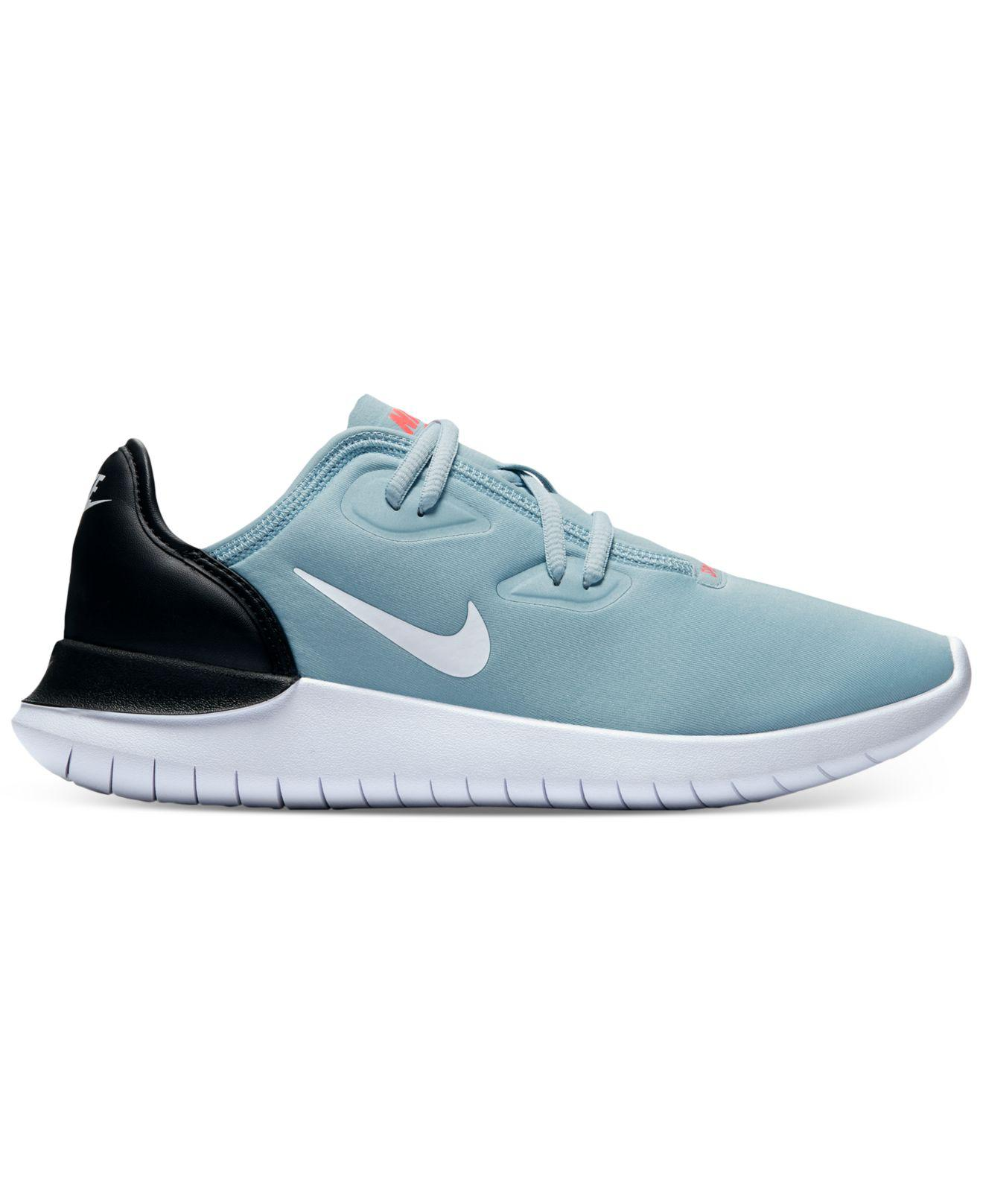 Nike. Women's Blue Hakata Casual Sneakers From Finish Line