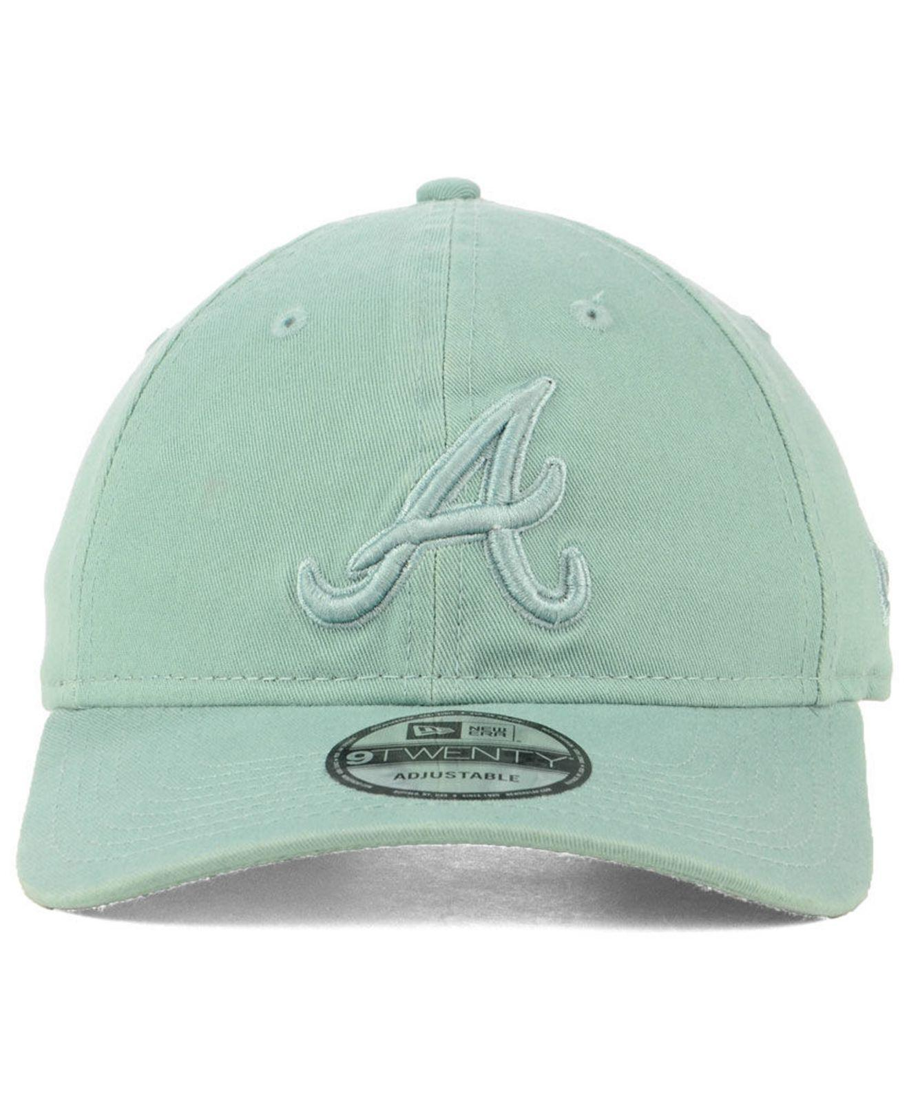 timeless design 6d3ad d5fc0 ... cheap lyst ktz atlanta braves spring classic 9twenty cap in blue for men  b0029 bb369