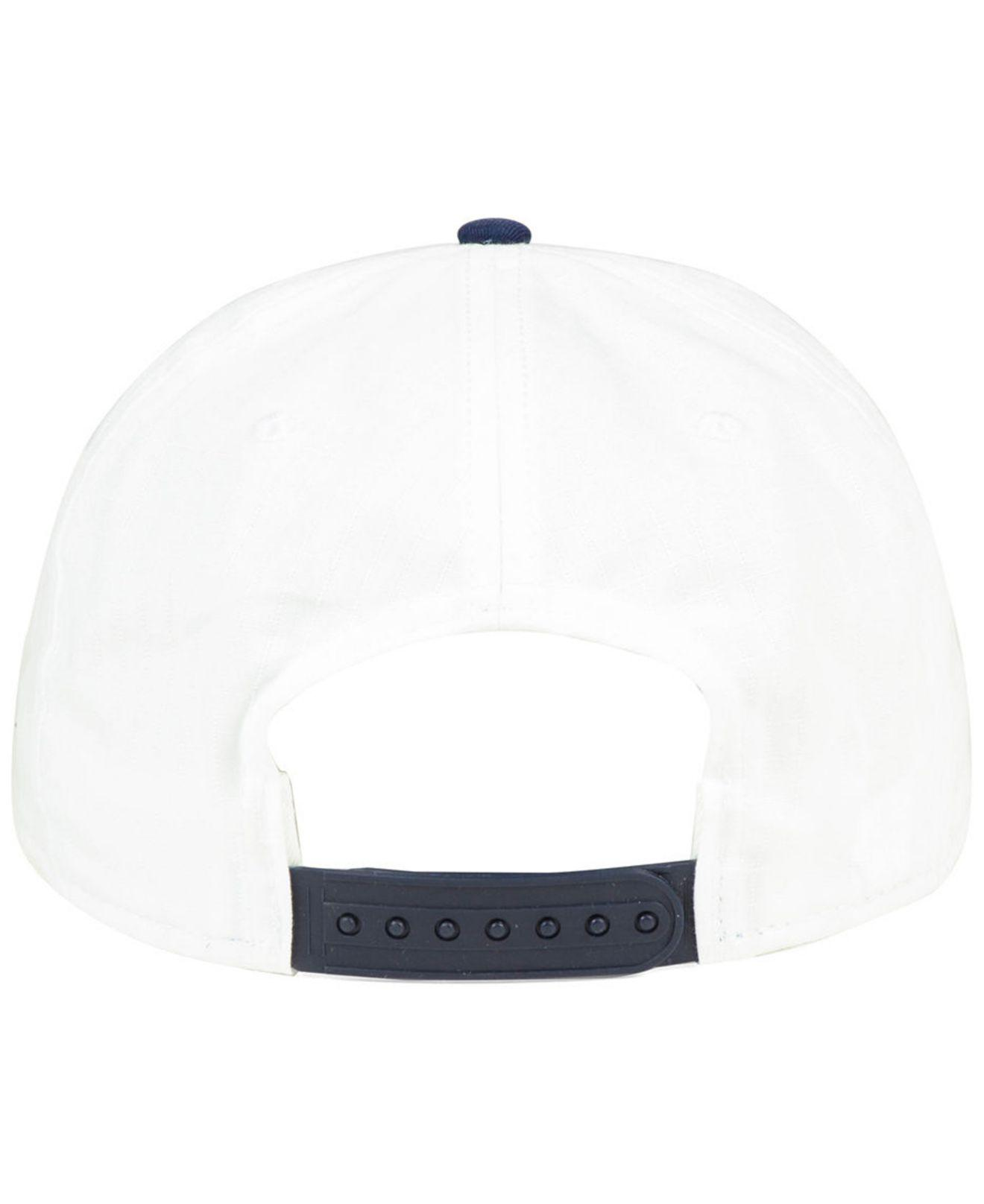 9afbab3b ... discount code for lyst nike cleveland indians white ripstop snapback cap  in white 0f1f6 3aa8b
