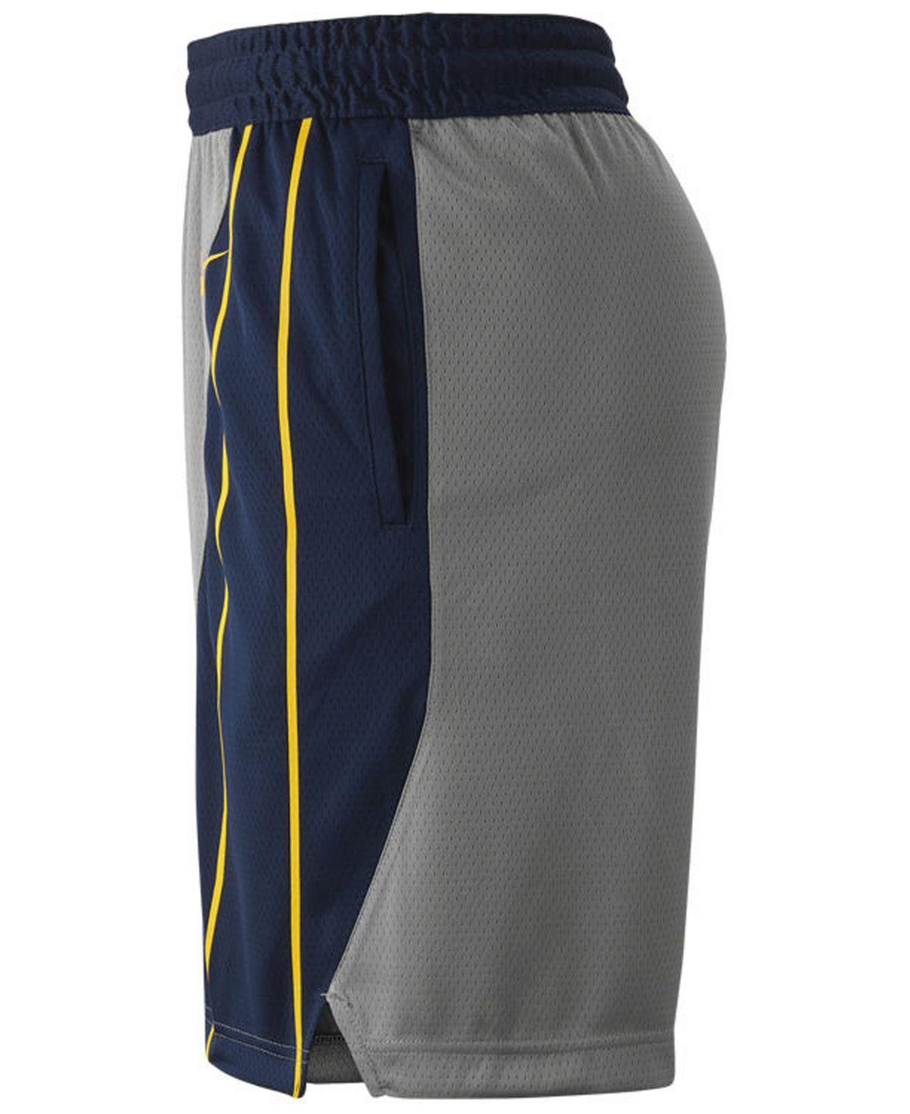 3d7bd62d922e11 Lyst - Nike Indiana Pacers City Swingman Shorts in Gray for Men