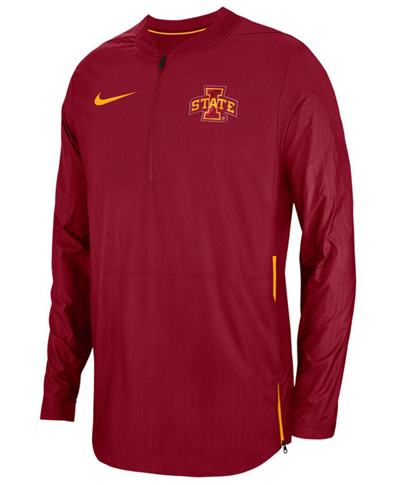 Lyst - Nike Iowa State Cyclones Lockdown Jacket in Red for Men e28ab7e05