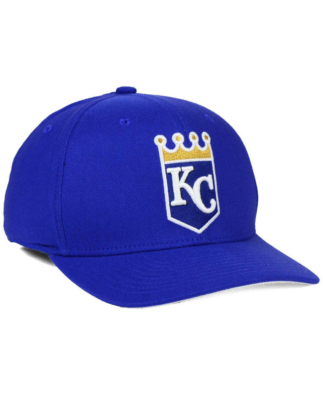 new product c11f9 962ca Nike - Blue Kansas City Royals Ligature Swoosh Flex Cap for Men - Lyst.  View fullscreen
