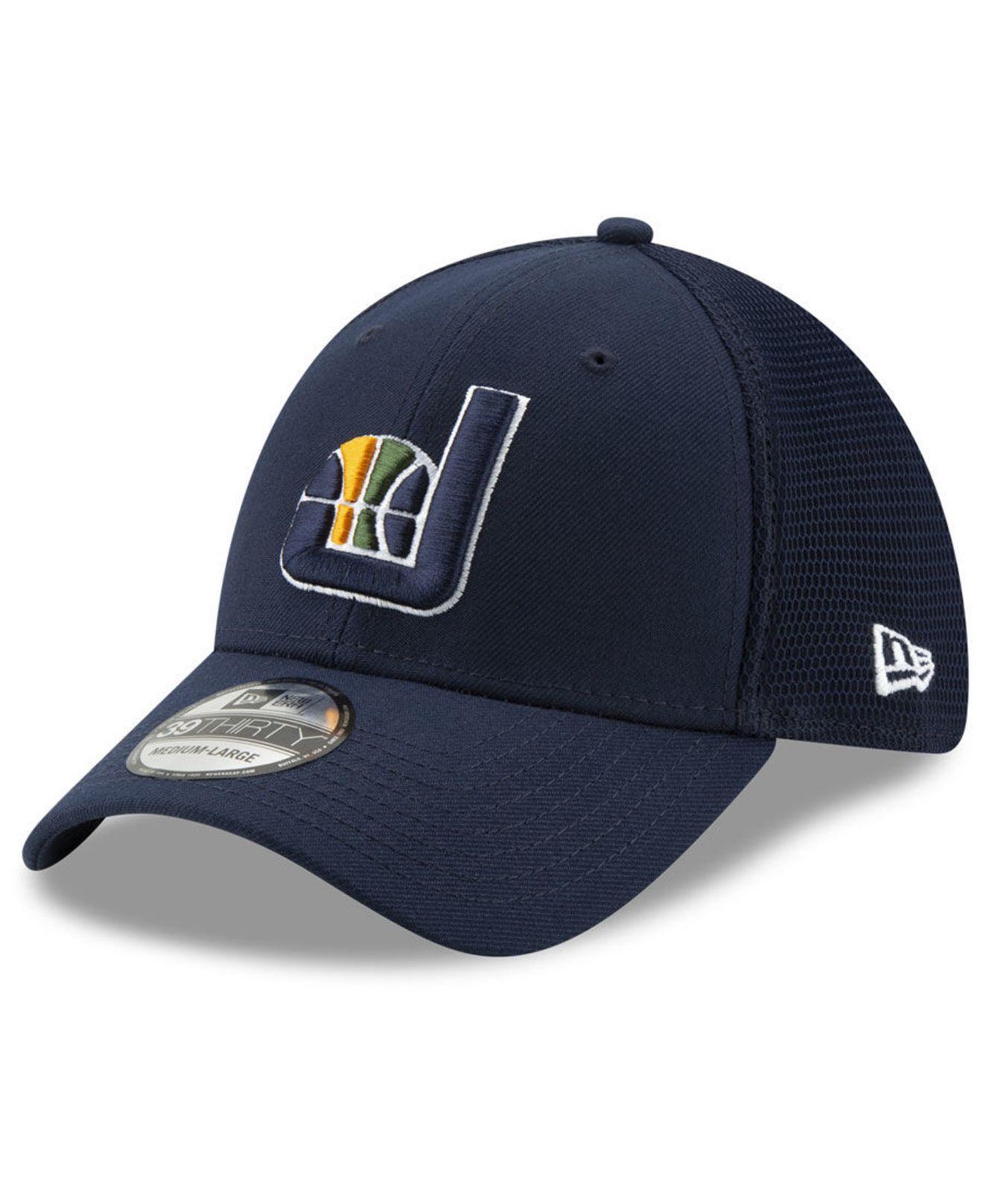 b1a2401d042 Lyst - KTZ Utah Jazz Back Half 39thirty Cap in Blue for Men