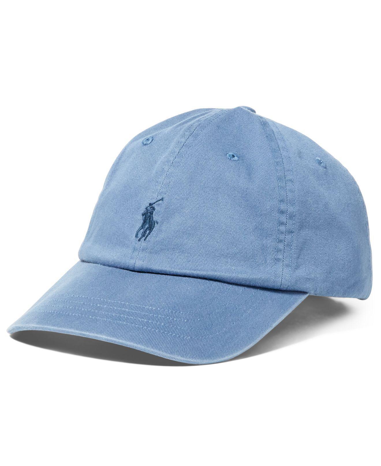 e26dcf1939e8b Polo Ralph Lauren Classic Sport Cap in Blue for Men - Save 39% - Lyst