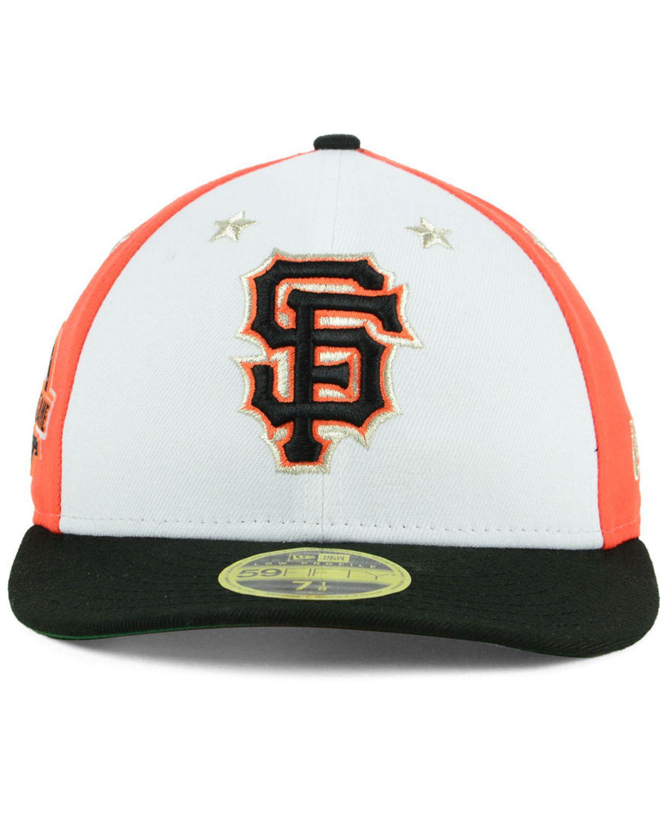 separation shoes 87c30 fe67e Lyst - KTZ San Francisco Giants All Star Game Patch Low Profile 59fifty  Fitted Cap 2018 for Men