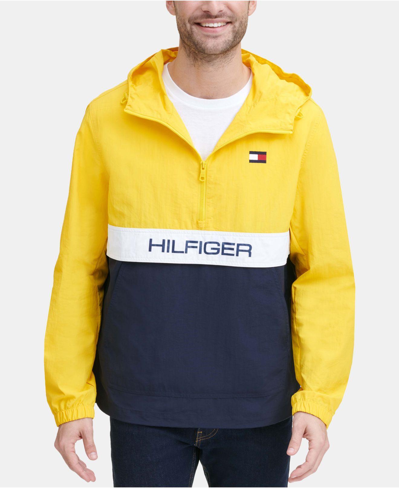 9dc43e210 Tommy Hilfiger Taslan Popover Jacket, Created For Macy's for Men - Lyst