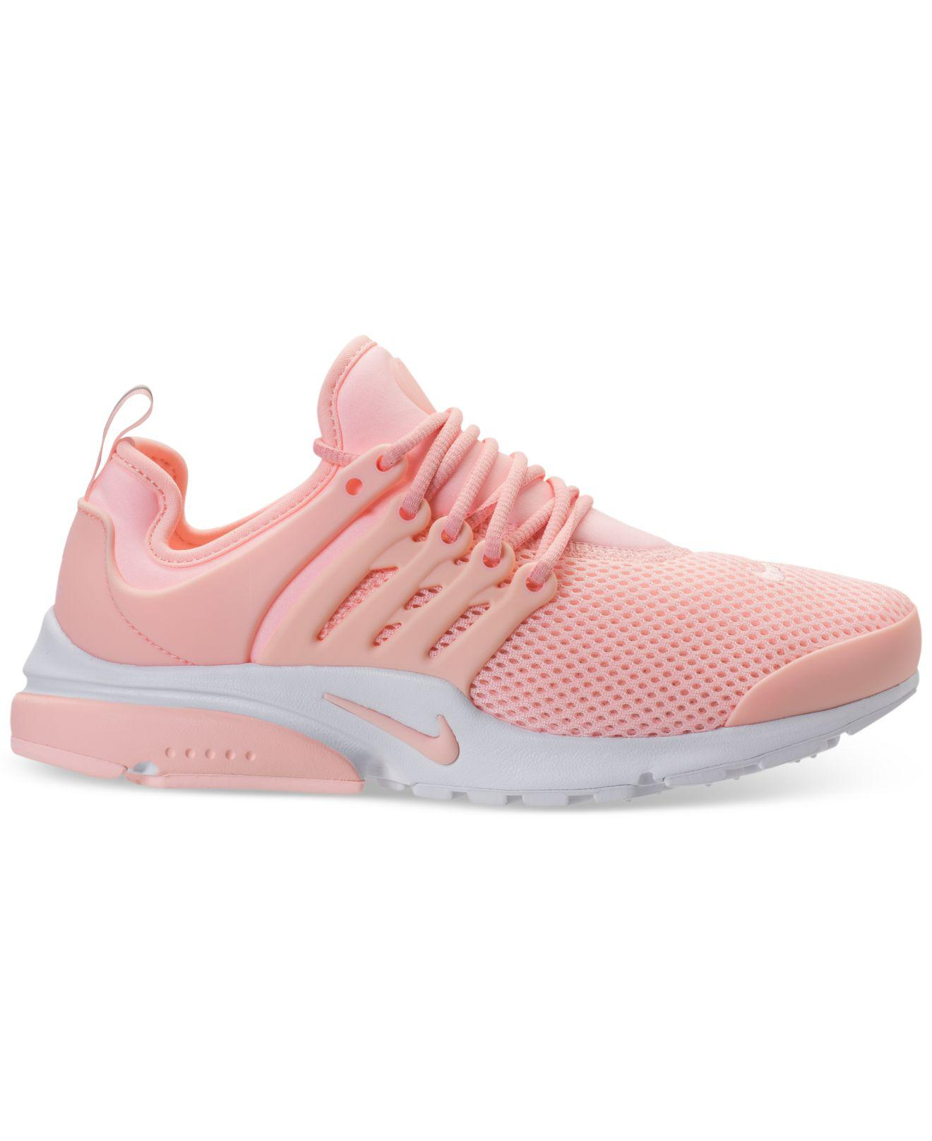 24930baeab47 ... denmark lyst nike air presto running sneakers from finish line in pink  71078 03101