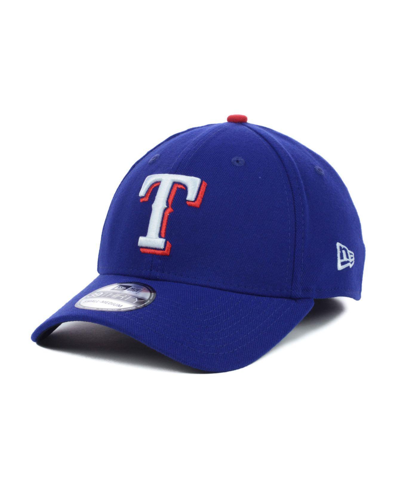 official photos e38be c352f KTZ - Blue Texas Rangers Mlb Team Classic 39thirty Cap for Men - Lyst. View  fullscreen