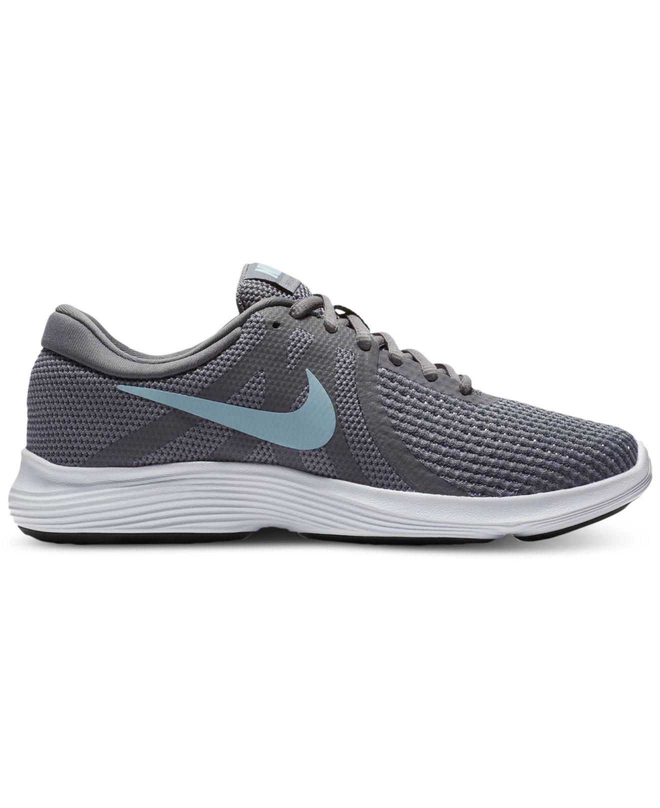 c15e462e78b5e Lyst - Nike Women s Revolution 4 Running Sneakers From Finish Line