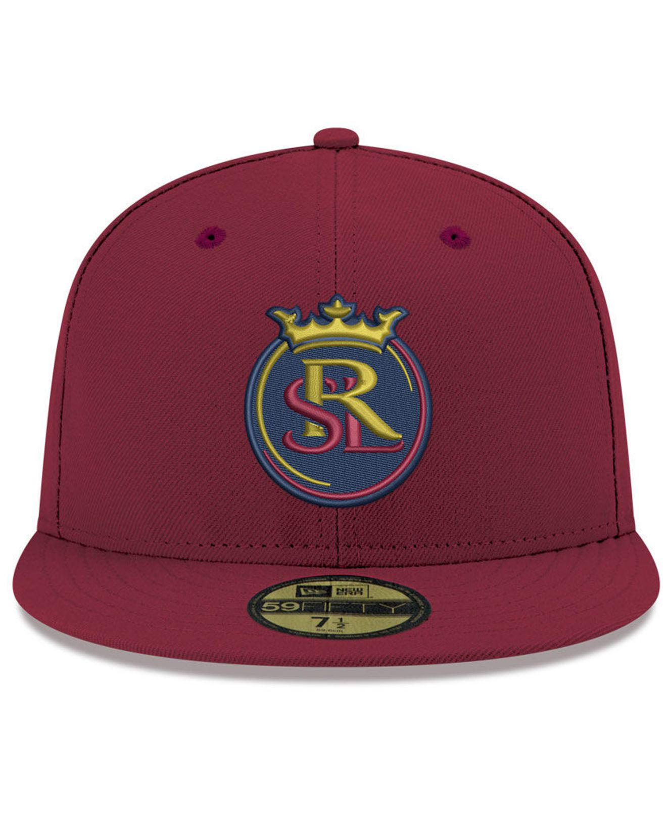 2d9cf887c14 Lyst - KTZ Real Salt Lake Core 59fifty-fitted Cap in Red for Men