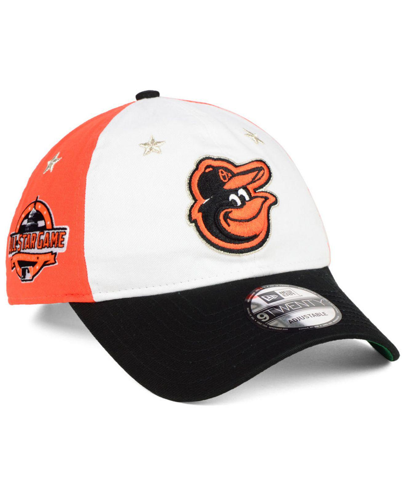 new products e6d02 92b94 ... spain ktz. mens black baltimore orioles all star game 9twenty strapback  cap 2018 2d258 bc951
