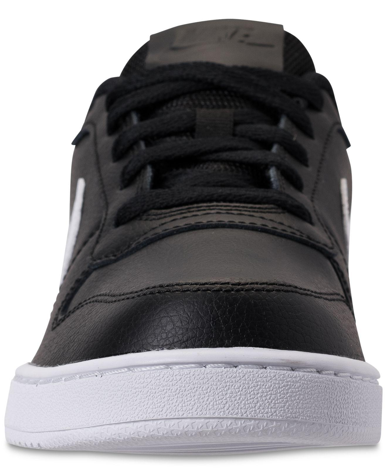 1a040005950 Nike - Black Ebernon Low Casual Sneakers From Finish Line for Men - Lyst.  View fullscreen