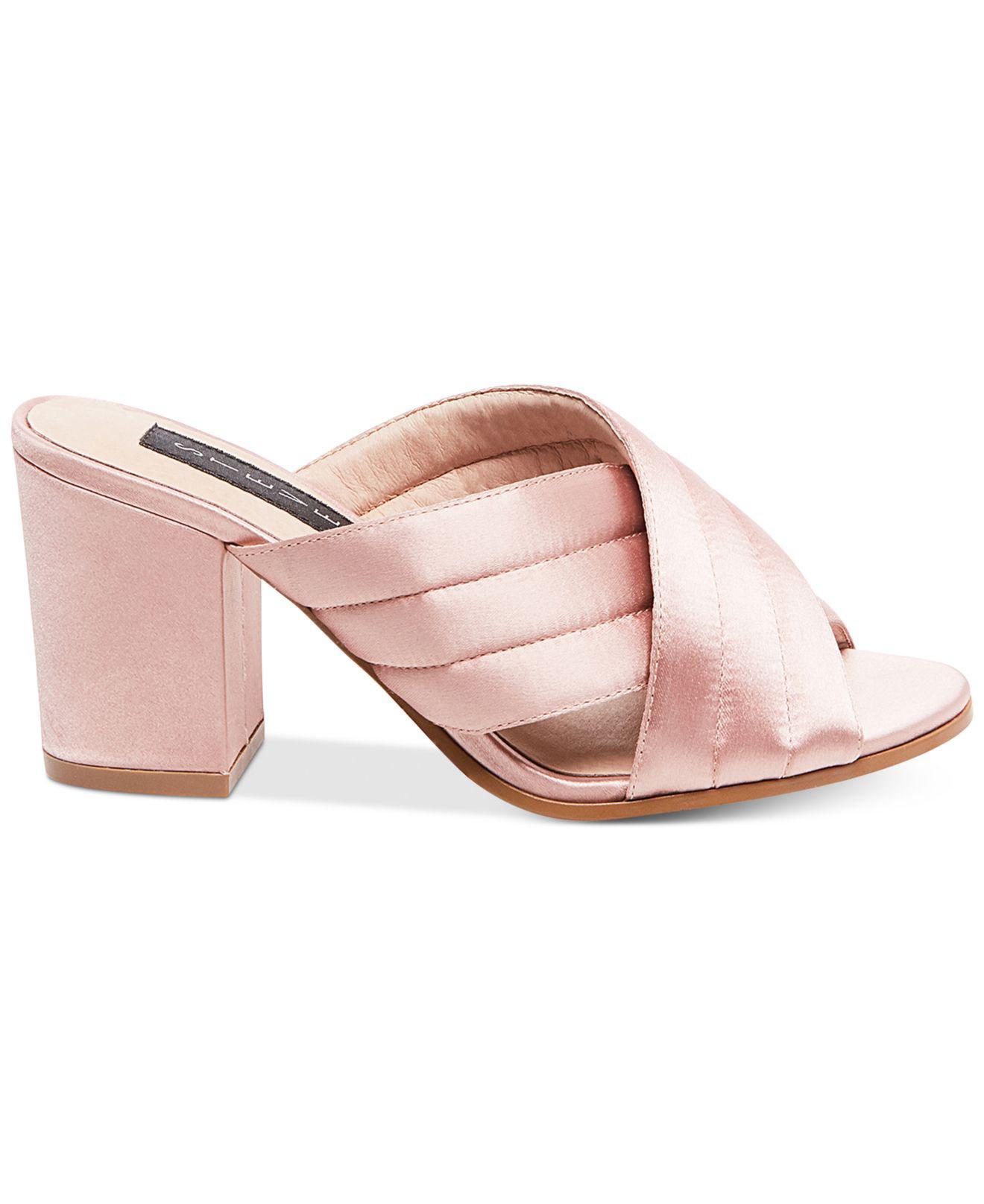 12d11e79829 Lyst - Steven By Steve Madden Women s Zada Slide-on Block-heel ...