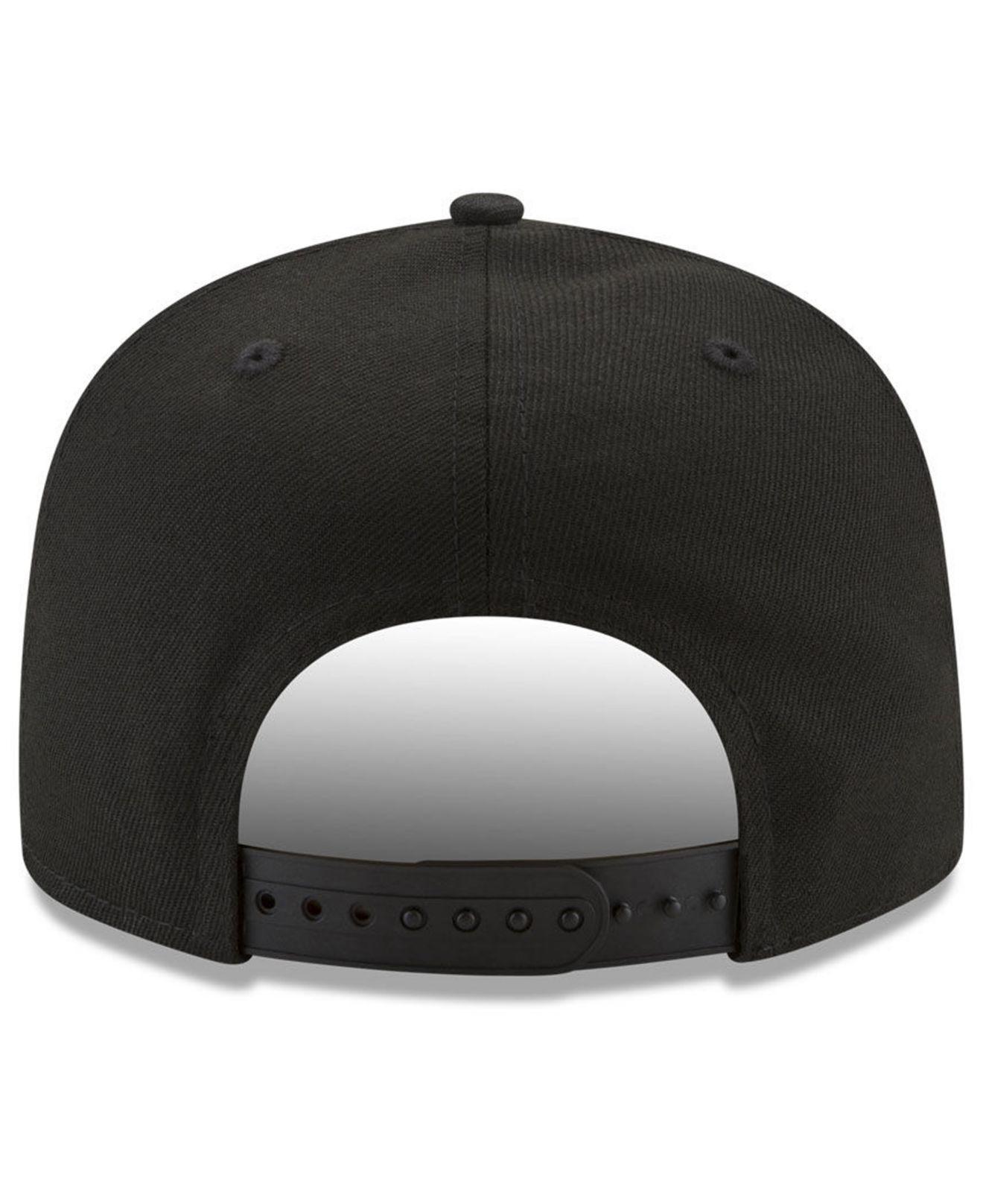 promo code 07e38 62c2a Lyst - KTZ Heather Pop 9fifty Snapback Cap in Black for Men