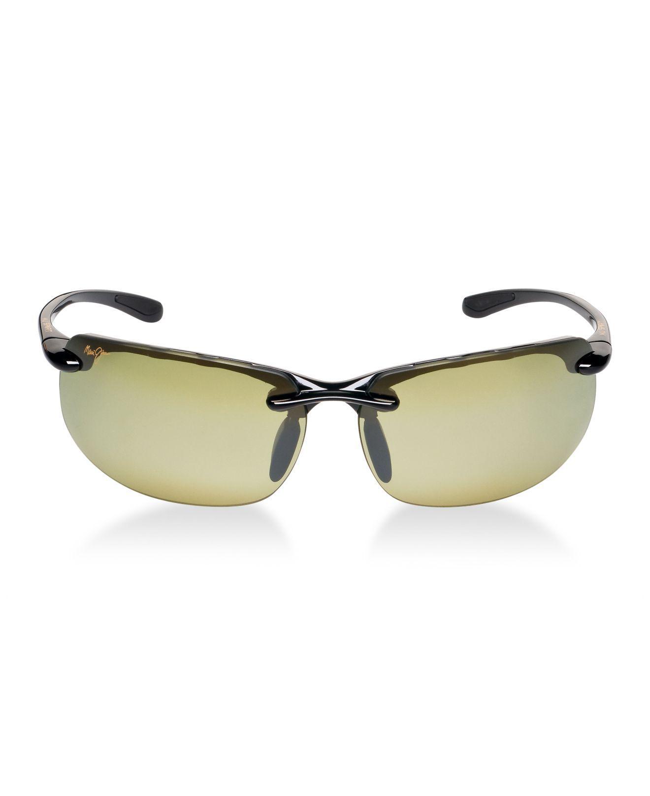 6018f031c5 Lyst - Maui Jim Sunglasses, 412 Banyans in Black