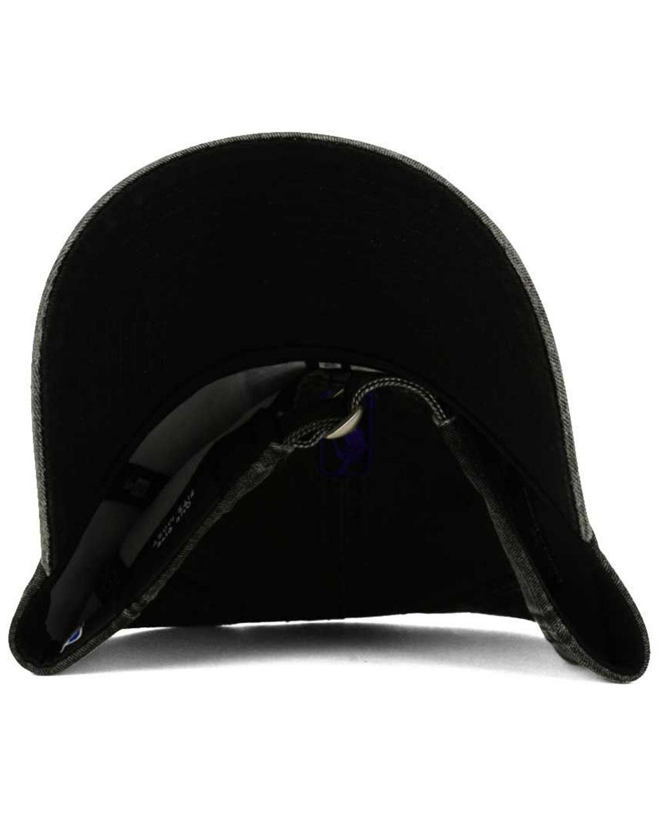 online retailer 785c4 b1627 KTZ - Black Italian Wash 9twenty Dad Cap for Men - Lyst. View fullscreen