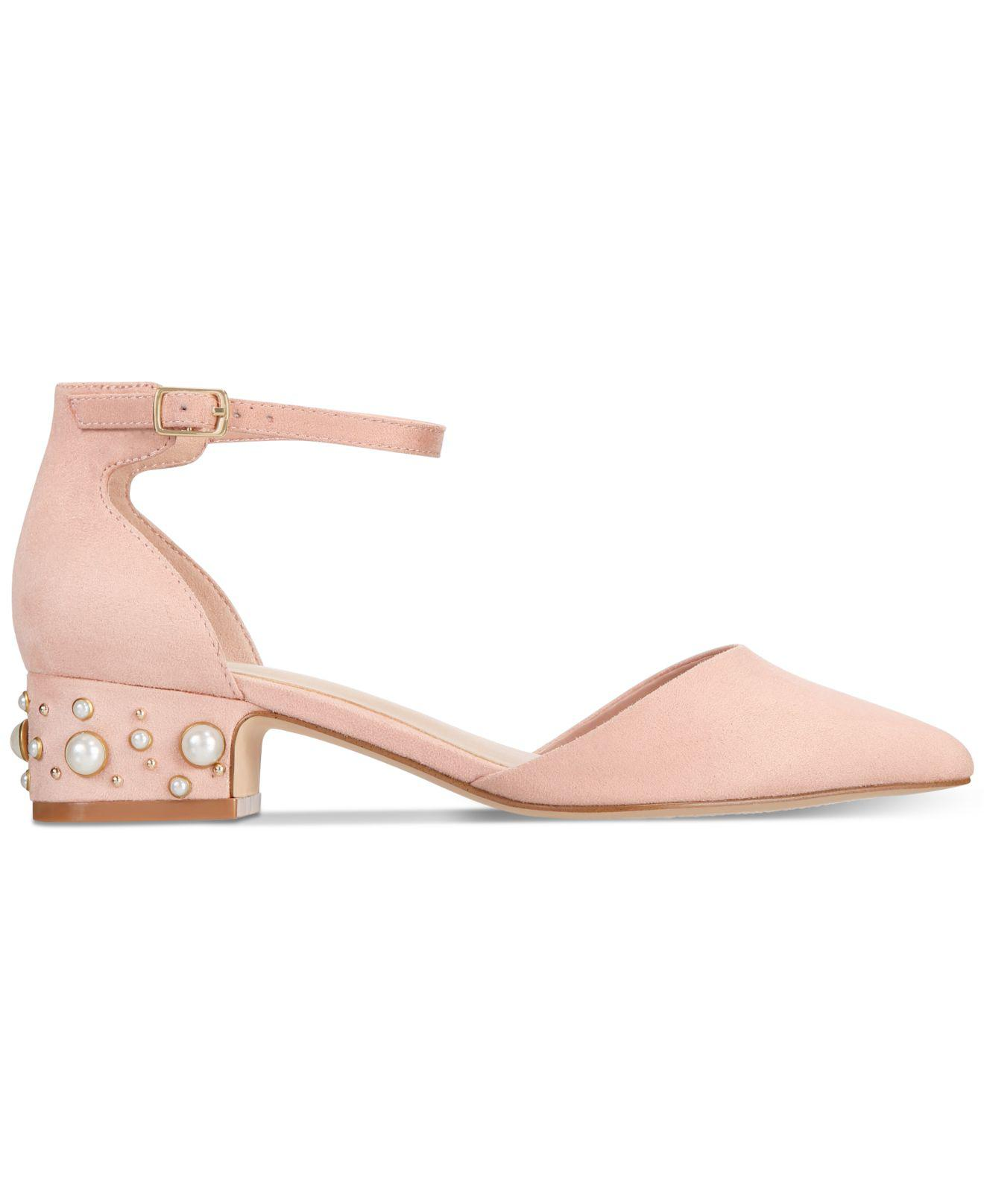 10298716a3dd Lyst - ALDO Women s Wiliwiel Block-heel Pumps in Pink