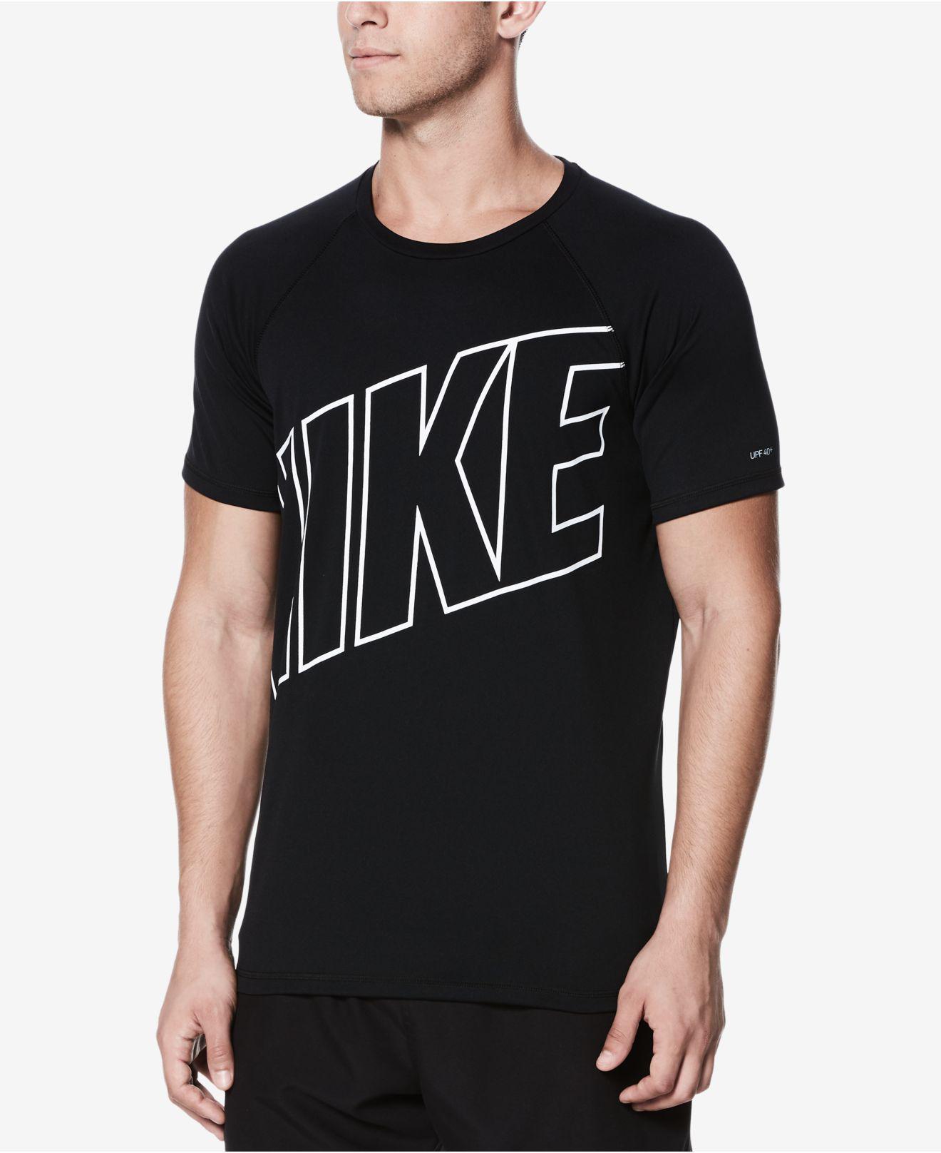 sports shoes 07ebd 6a91a Nike Mens Hydroguard Swim Shirt