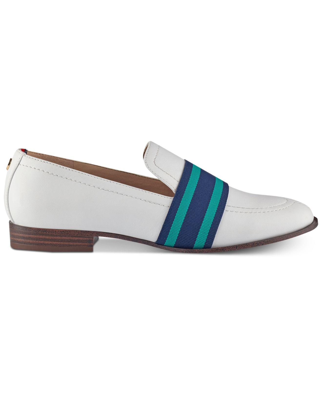 7a3362787 Lyst - Tommy Hilfiger Ignaz Loafers in White
