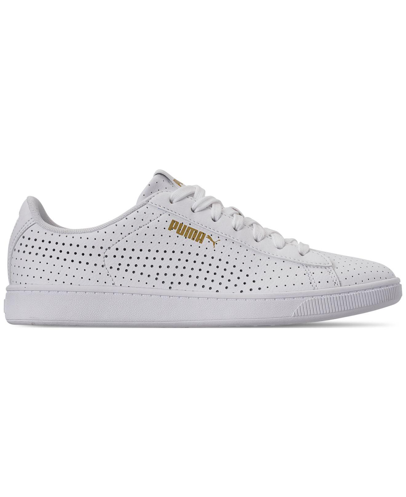 Lyst - PUMA Vikky Perf V2 Casual Sneakers From Finish Line in White 1ba16d0be