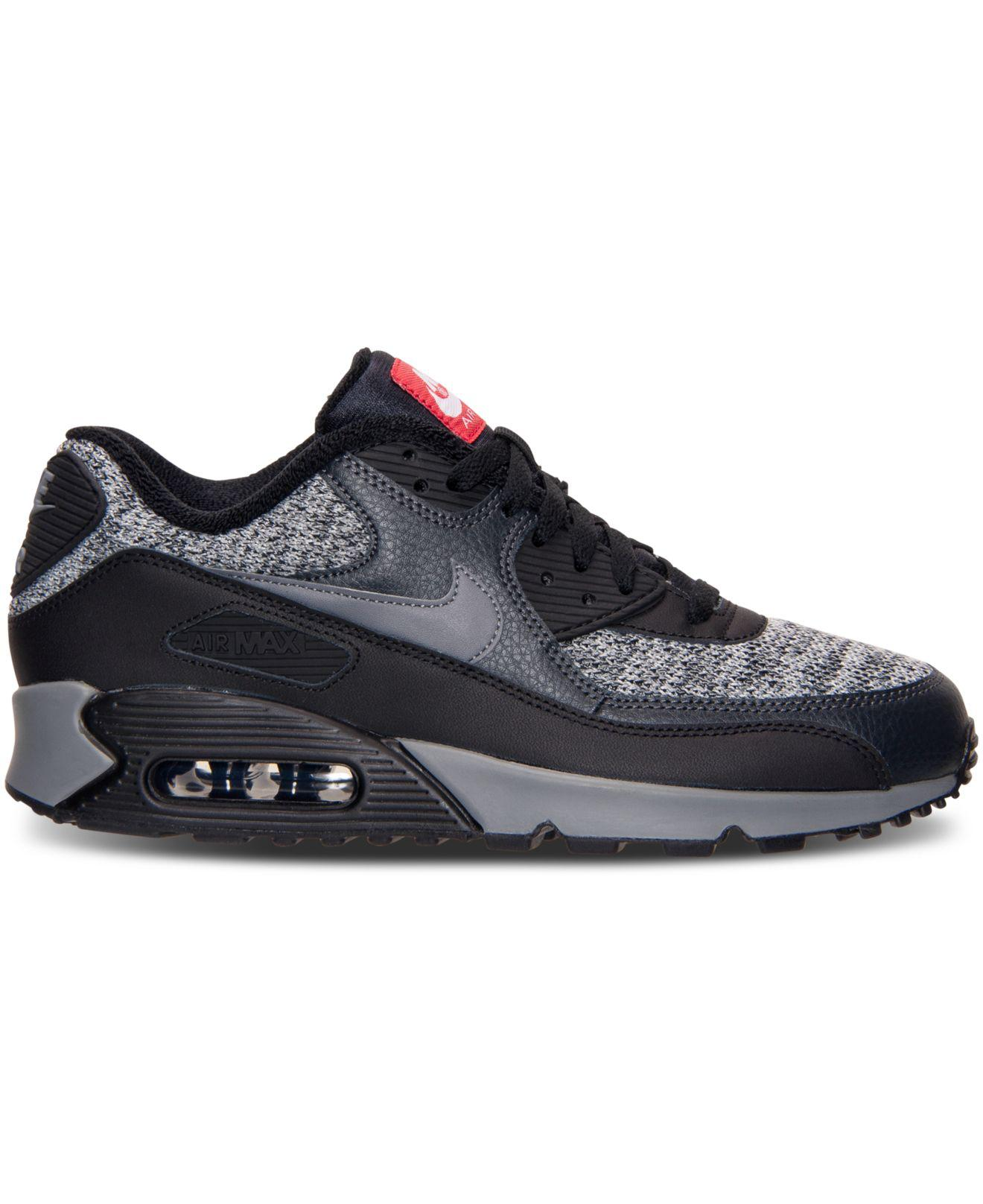 Lyst - Nike Men s Air Max 90 Essential Running Sneakers From Finish Line in  Black for Men - Save 55.04587155963303% bdae4f3c2