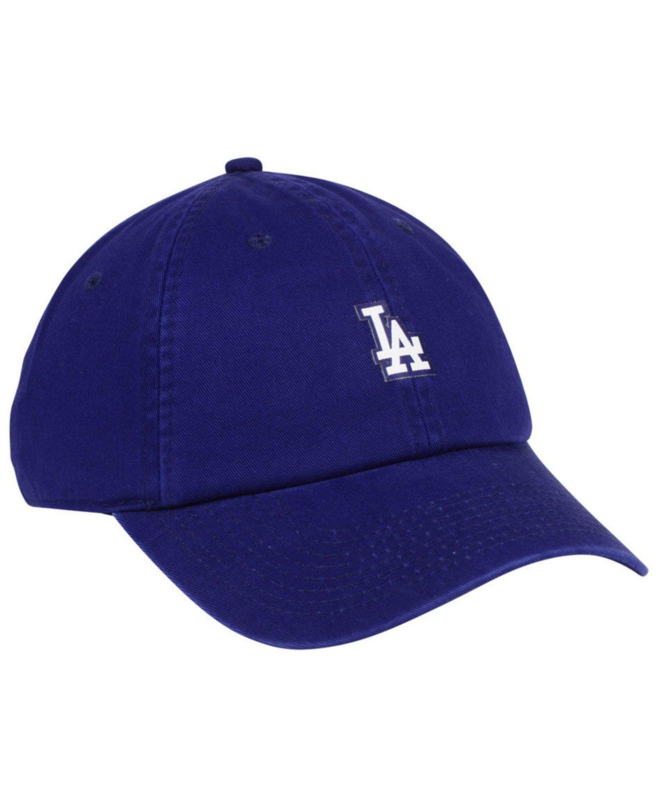 new product 266fc dd4f6 ... czech lyst nike los angeles dodgers micro cap in blue for men a4448  7f02b