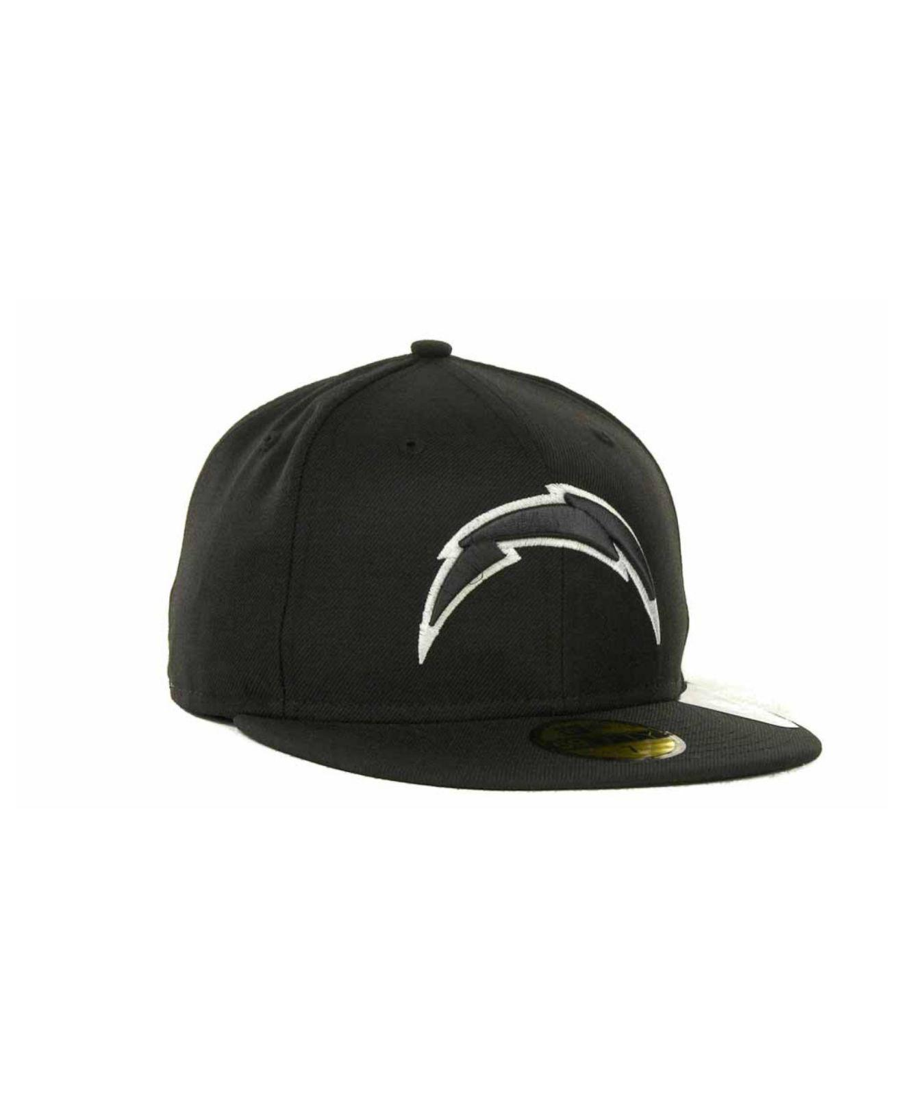 detailing f175a 8db2c ... Chargers 59fifty Cap for Men - Lyst. View fullscreen