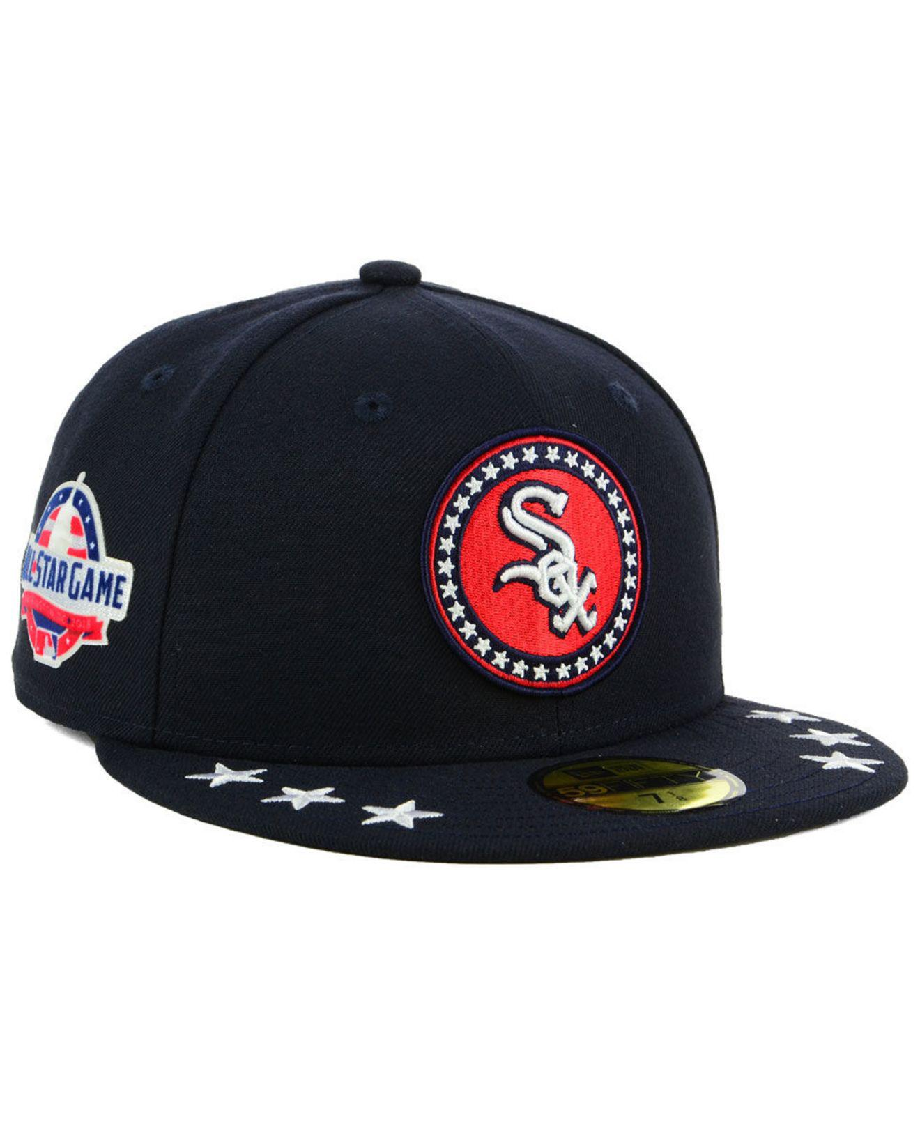 online store da6cd 88bbb ... usa ktz blue chicago white sox all star workout 59fifty fitted cap for  men lyst.