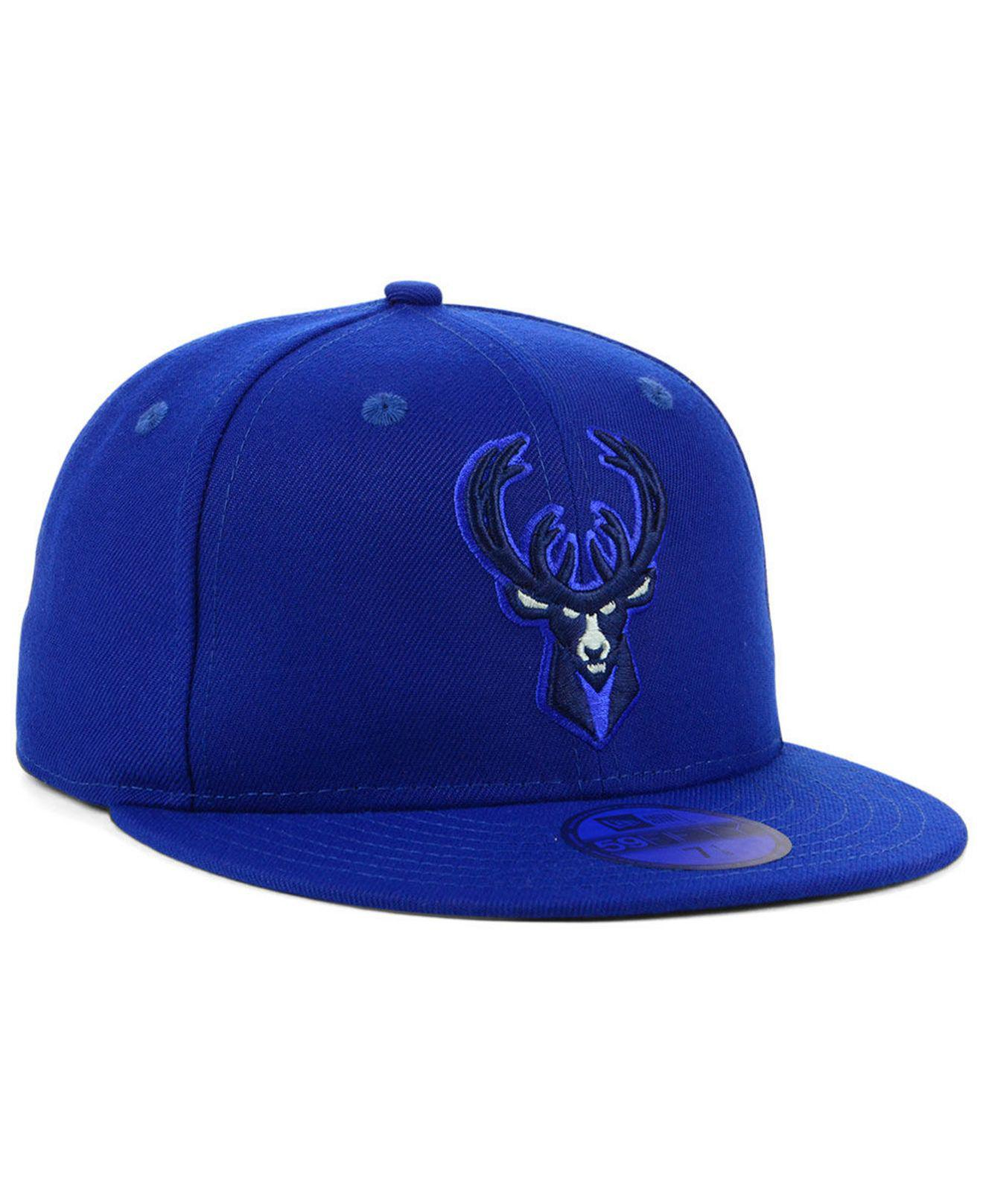 finest selection e5f4f 236d1 ... where can i buy milwaukee bucks color prism pack 59fifty fitted cap for men  lyst.