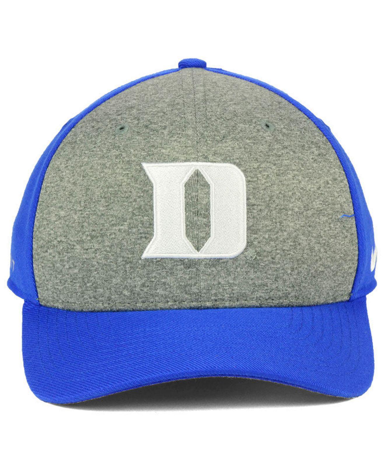 3338d6ab70e20 ... order lyst nike duke blue devils legend swooshflex cap in blue for men  ed508 b78bc
