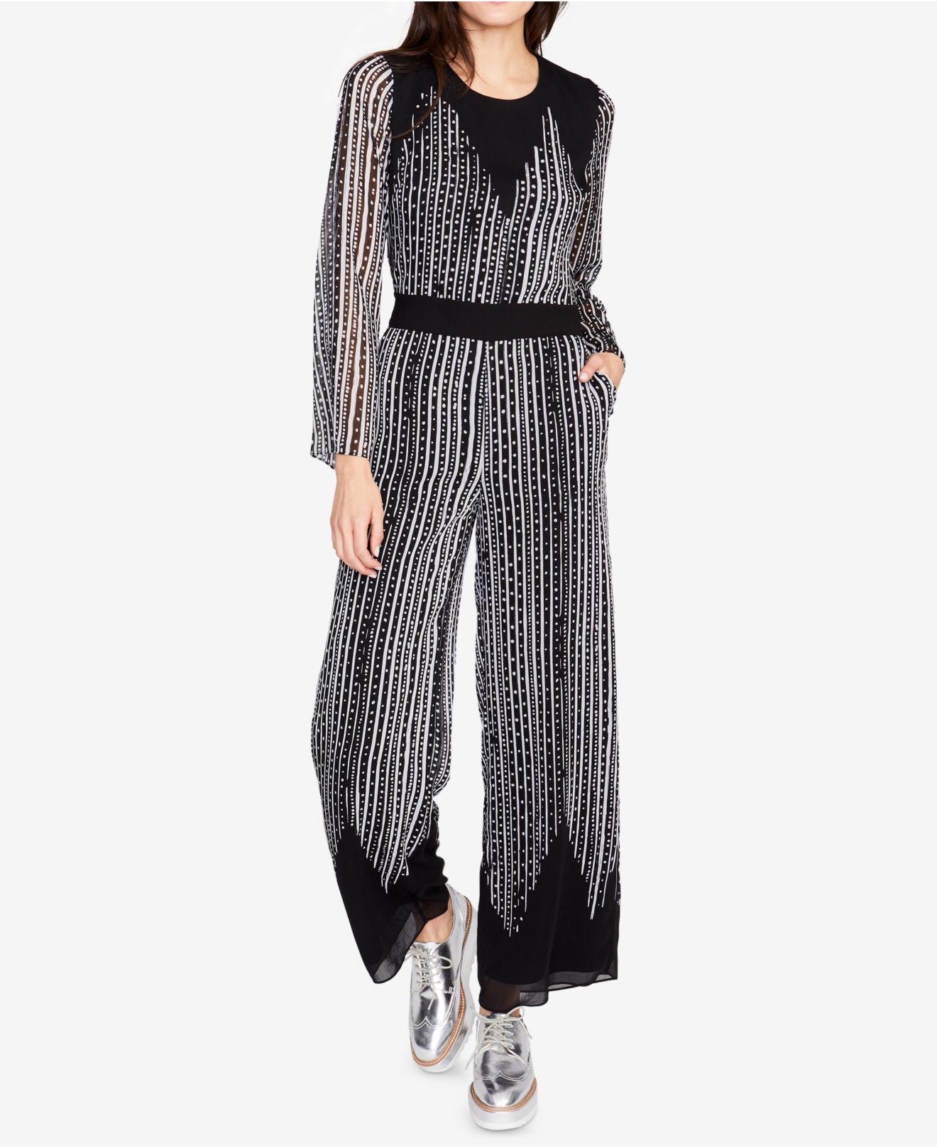 e7a5c118fd5 Lyst - RACHEL Rachel Roy Printed Tie-back Jumpsuit