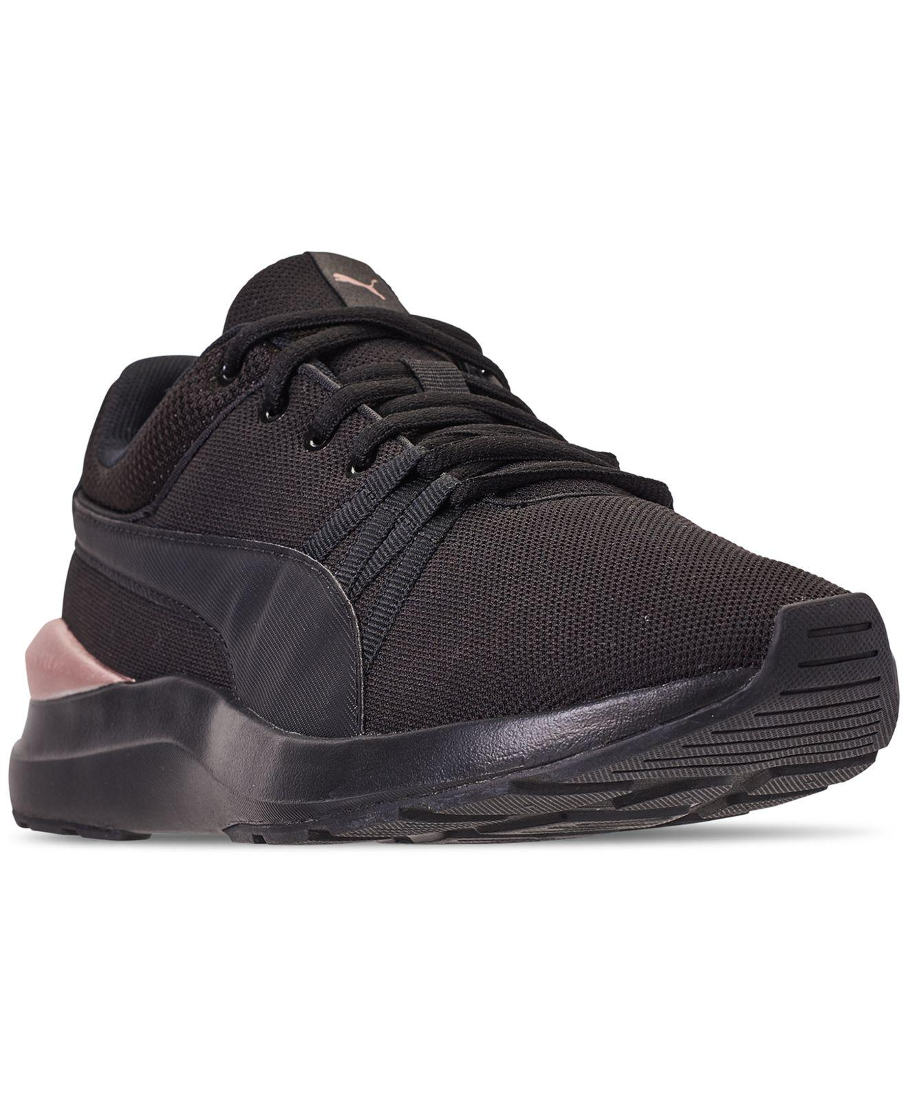 6006032983418 Lyst - PUMA Adela Mesh Casual Sneakers From Finish Line in Black