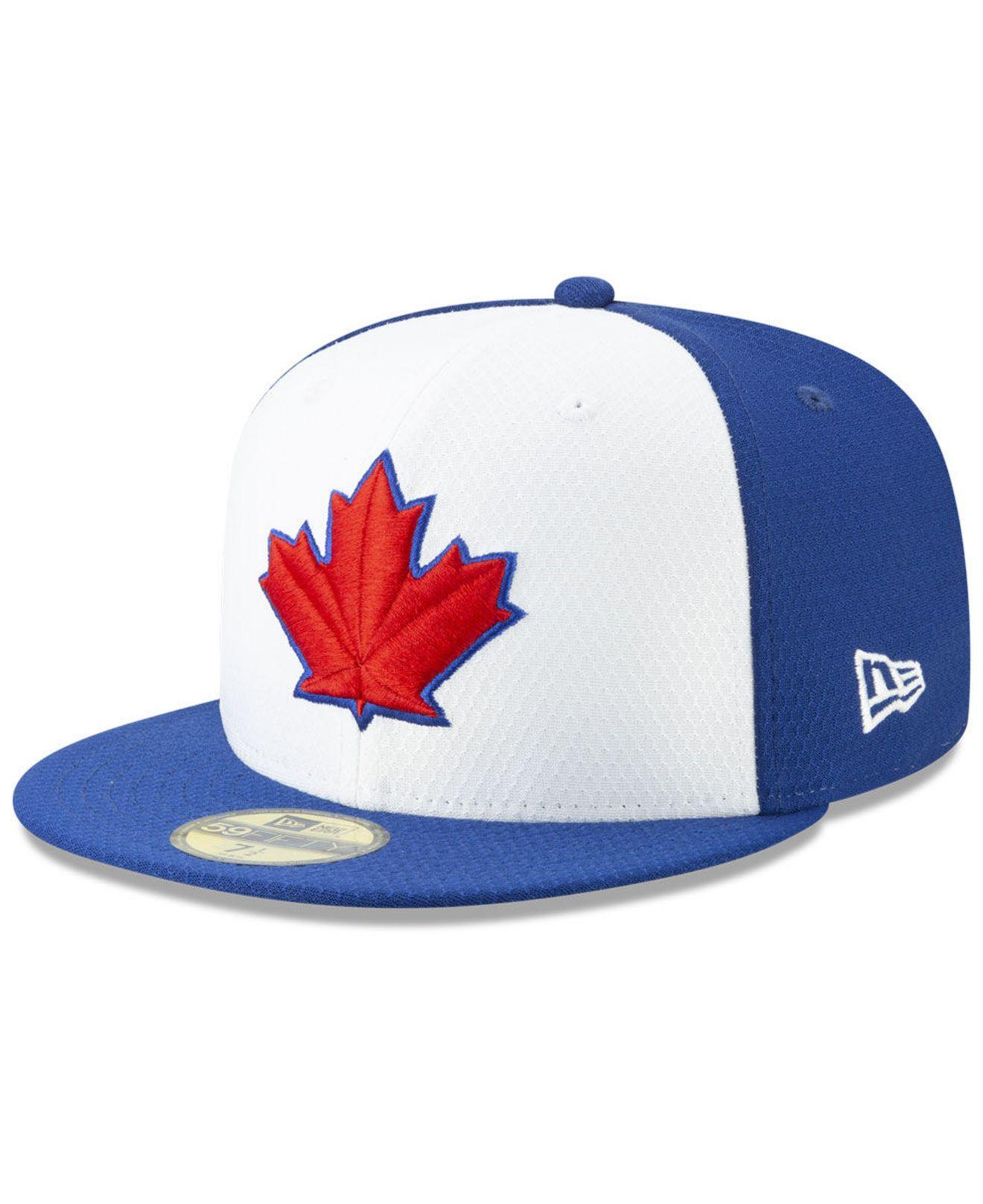 1ecaa2654a7 Lyst - KTZ Toronto Blue Jays Batting Practice 59fifty-fitted Cap in ...