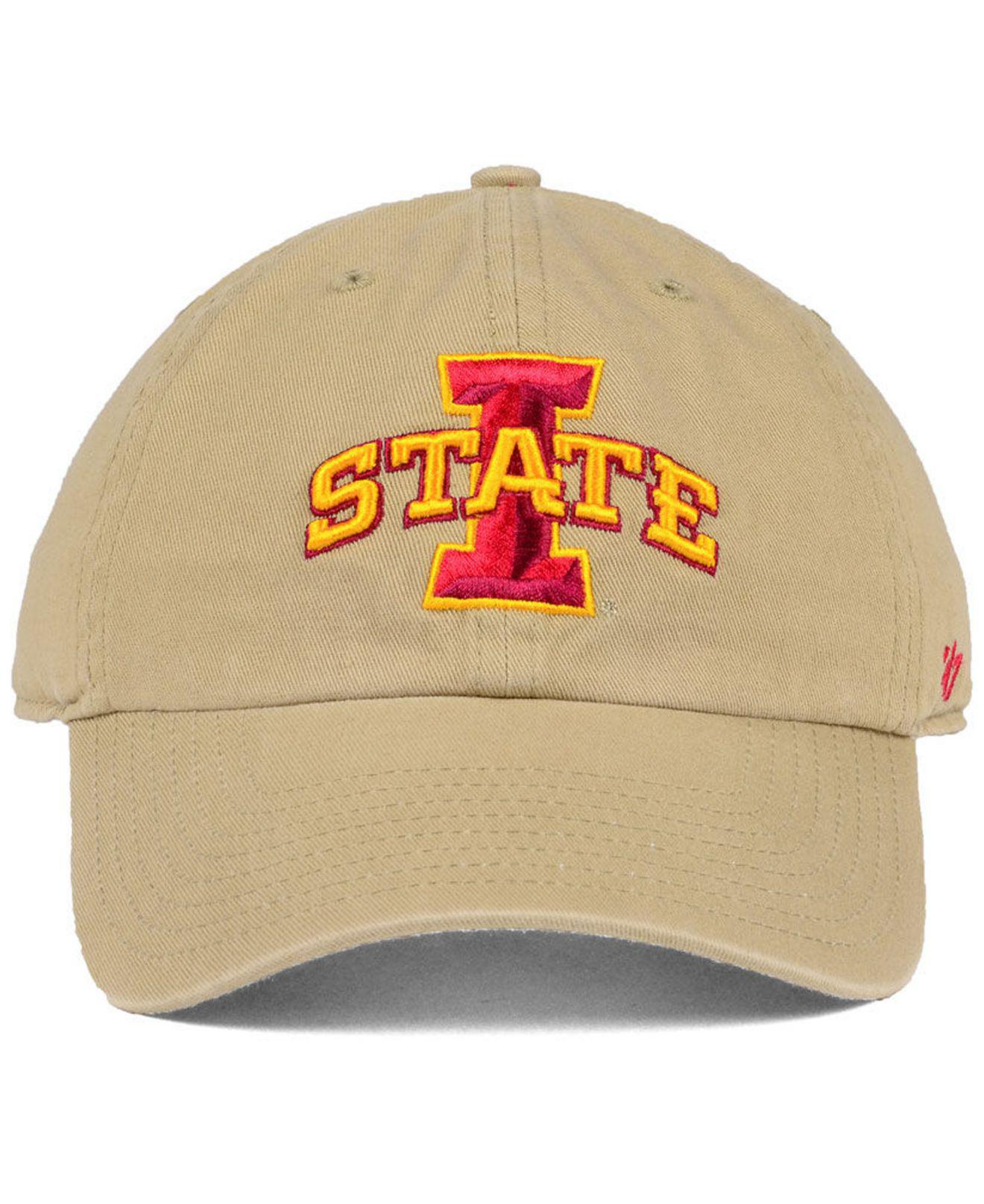 new style 74e97 3850e Lyst - 47 Brand Iowa State Cyclones Clean Up Cap for Men
