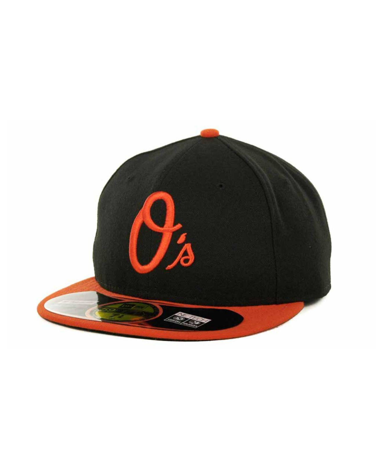 Lyst - KTZ Baltimore Orioles Authentic Collection 59fifty Hat in ... e4749ca09970