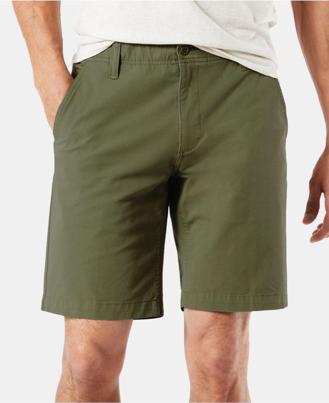 1e42494effb1 Dockers. Men's Green Straight Fit Chino Smart 360 Flex 4-way Stretch 9.5