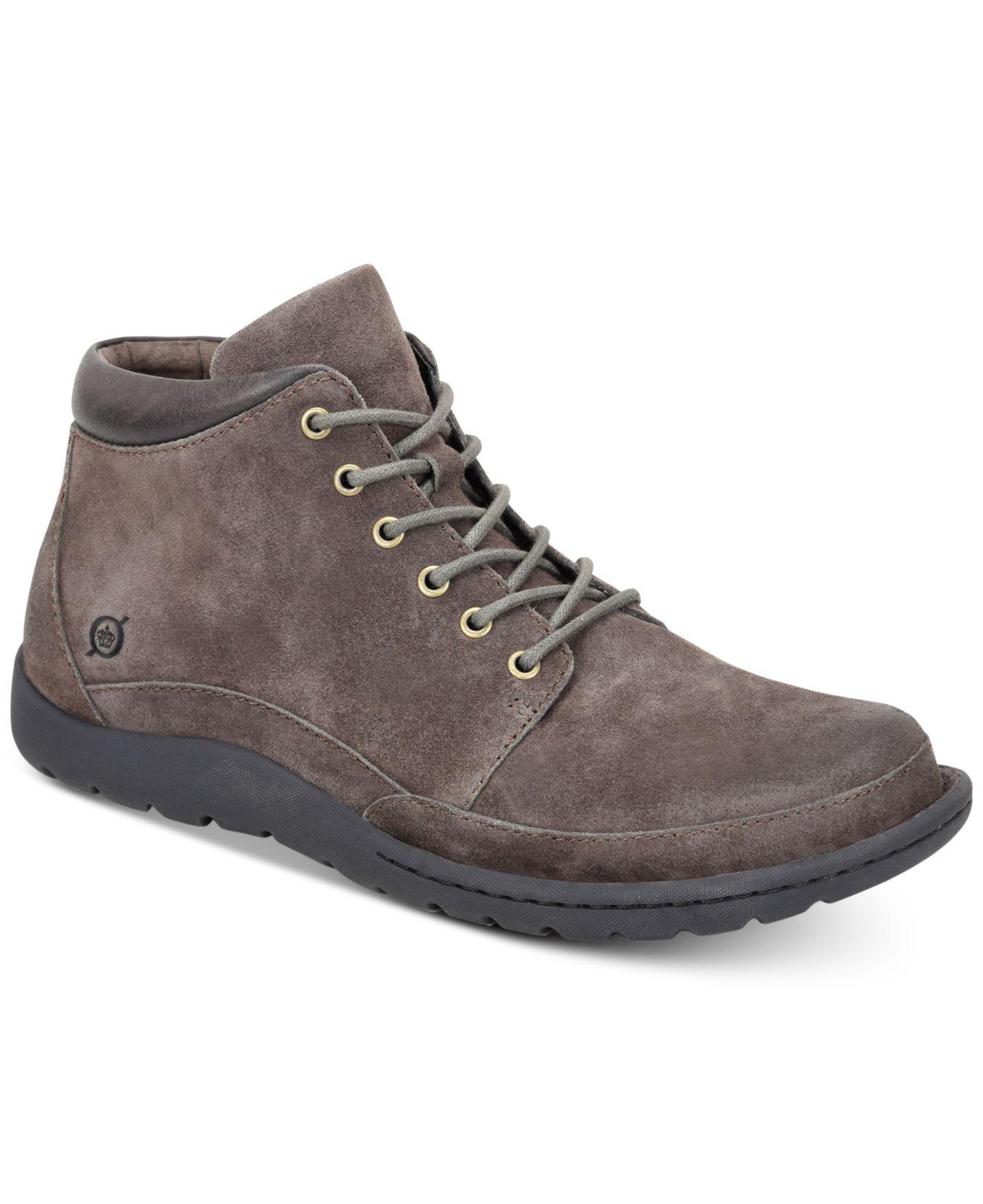 1a60dcdc00a Born Nigel Boots in Gray for Men - Lyst