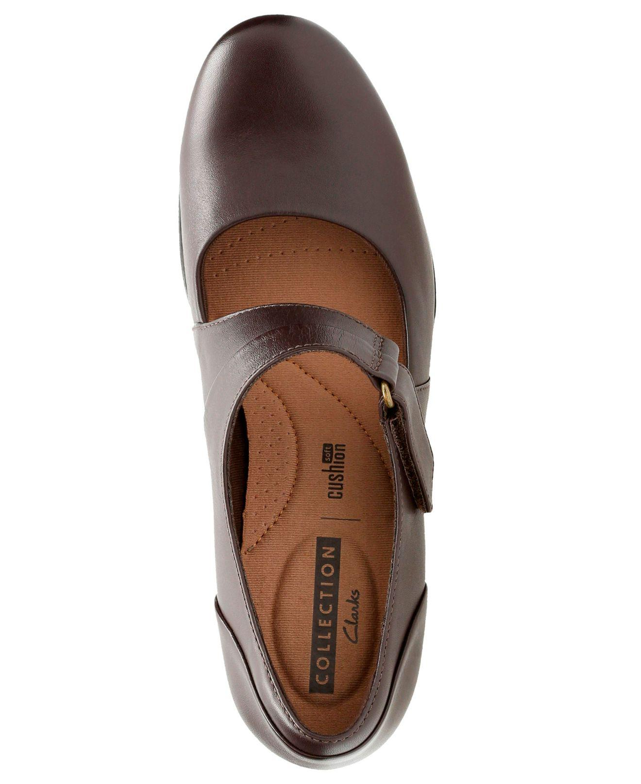 f5c9841f9a Lyst - Clarks Women's Emslie Lulin Mary Jane Pumps in Brown