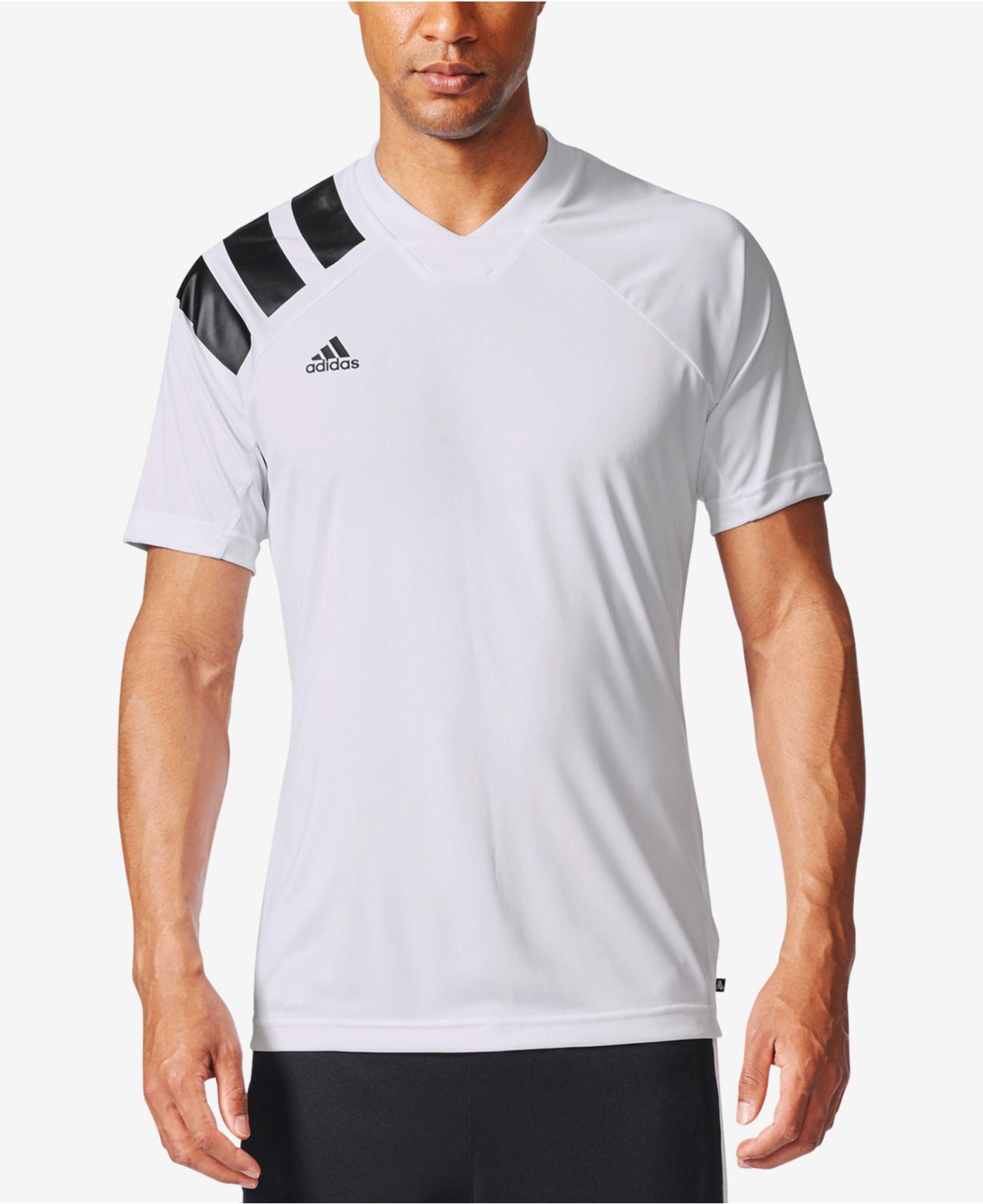 Lyst adidas tango climalite uomini ® calcio camicia bianca per gli uomini.