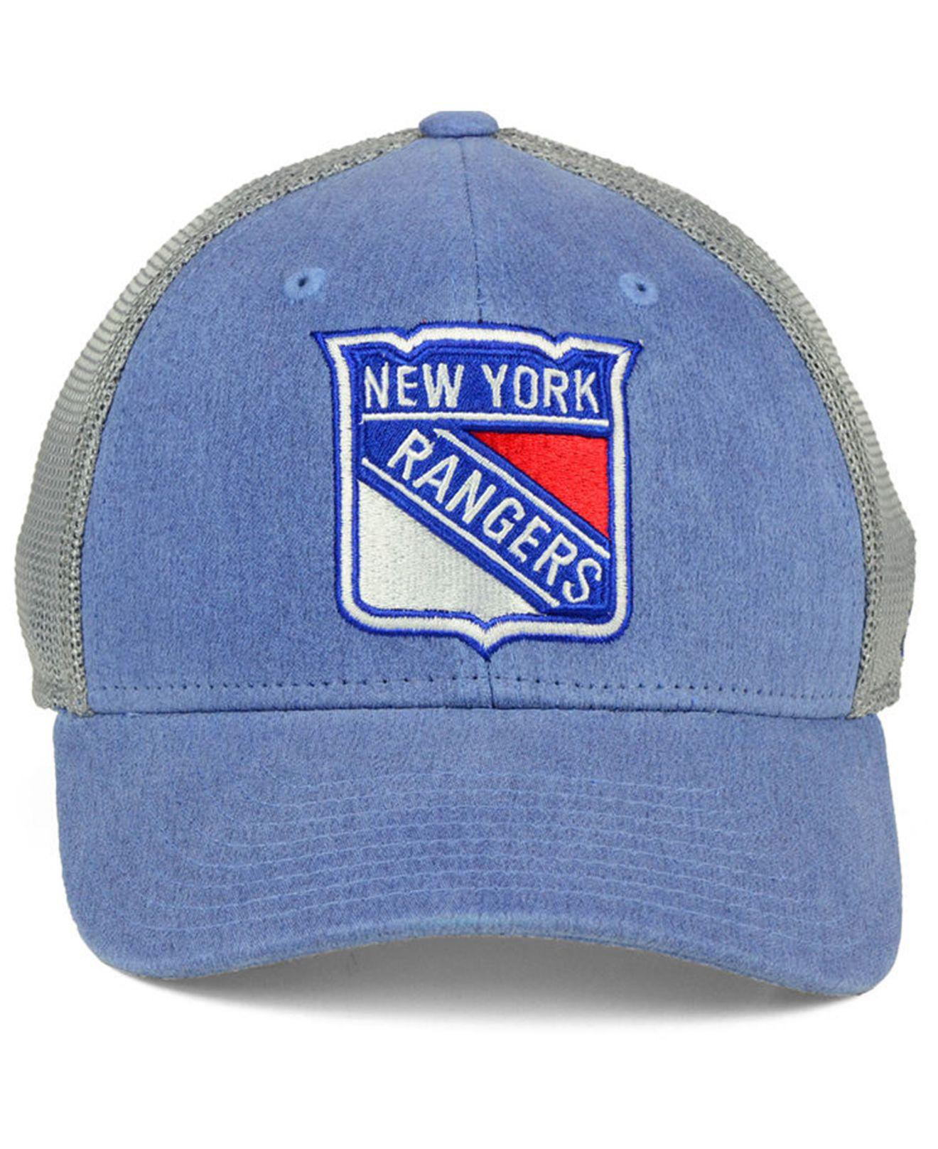 super popular a7bf5 c6730 Lyst - adidas New York Rangers Geno Flex Cap in Blue for Men