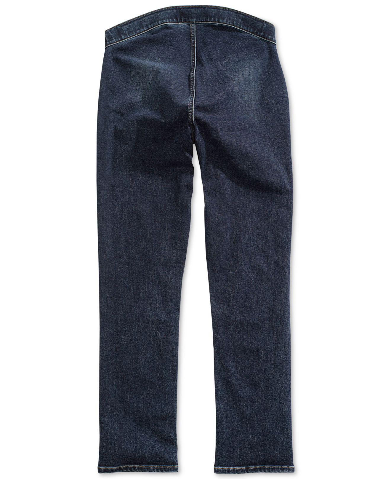 4146659dcbd3 Lyst - Tommy Hilfiger Straight-fit Jeans With Magnetic Zipper in Blue