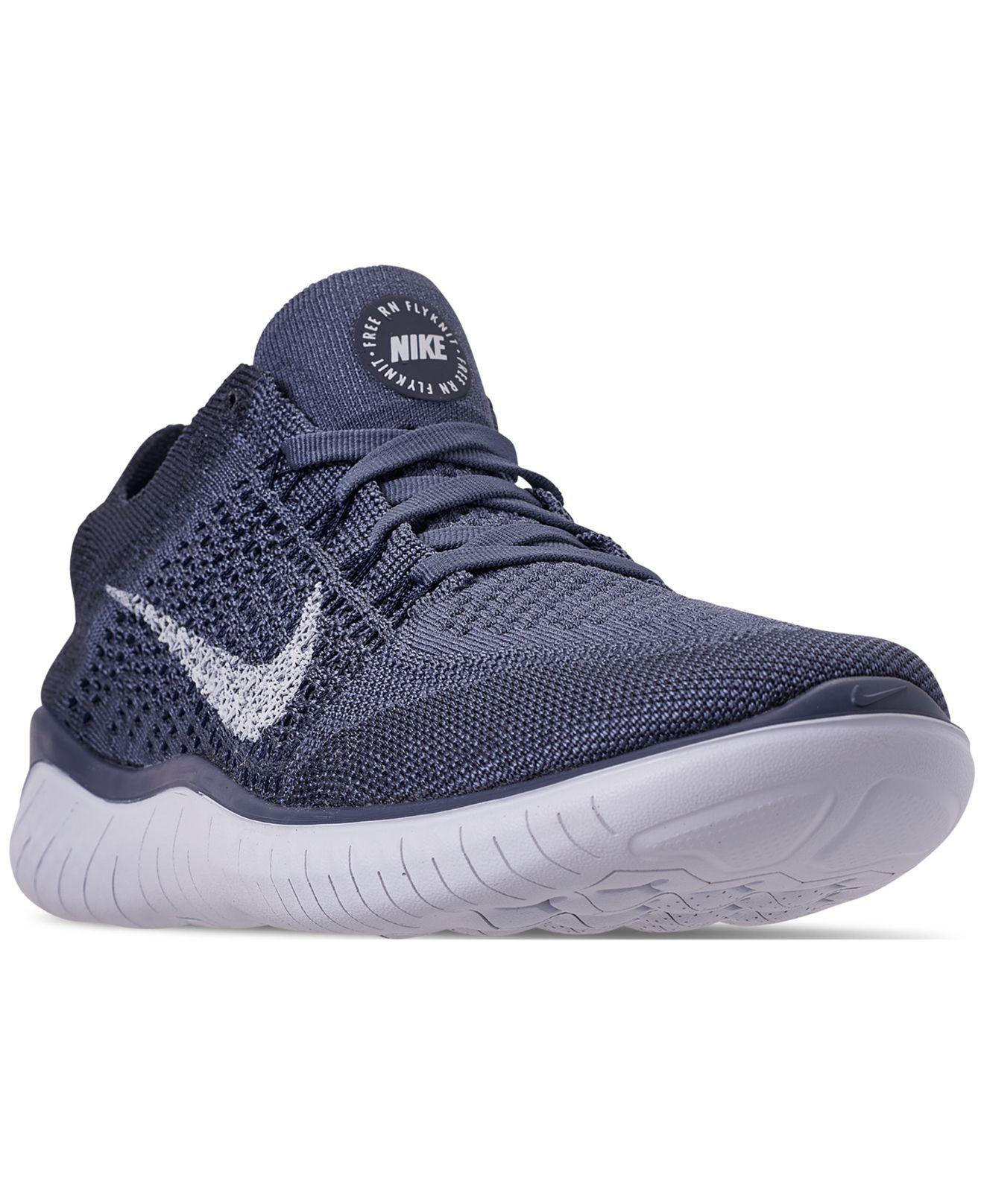 105daac2412a Lyst - Nike Free Rn Flyknit 2018 Running Sneakers From Finish Line ...