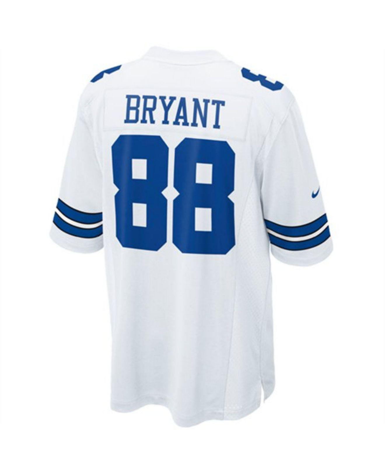 ed7fc7e6 Nike Men's Dez Bryant Dallas Cowboys Limited Jersey in White for Men ...